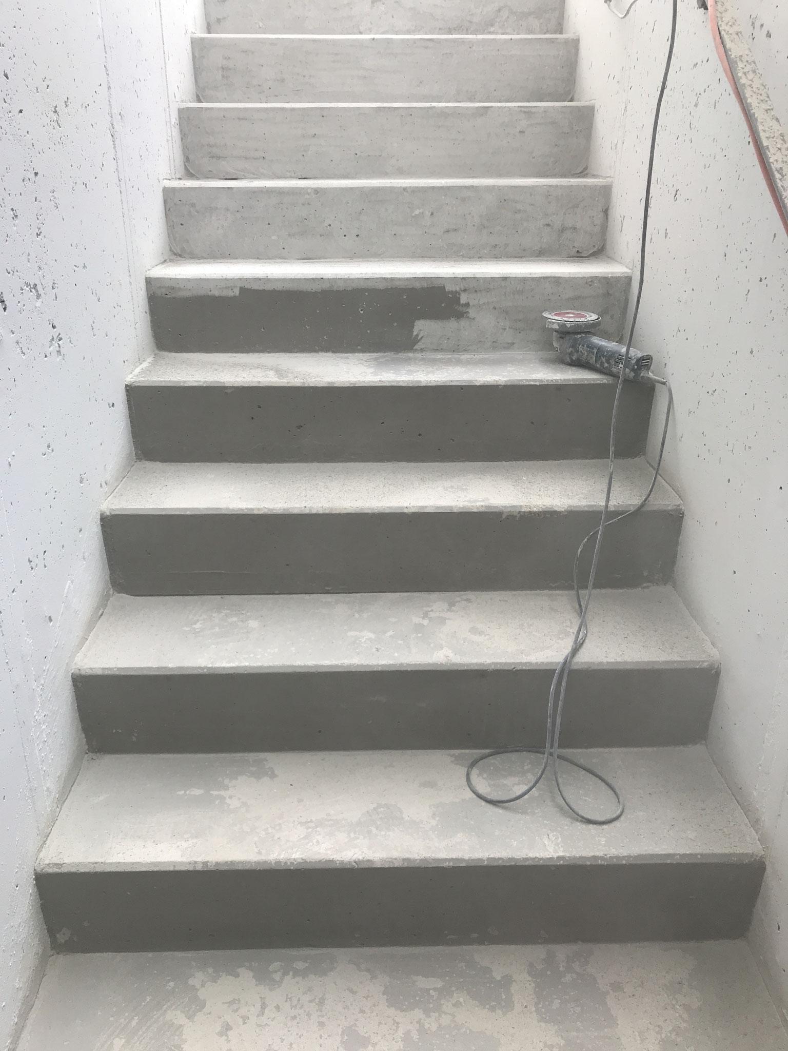 Sanierung Außentreppe