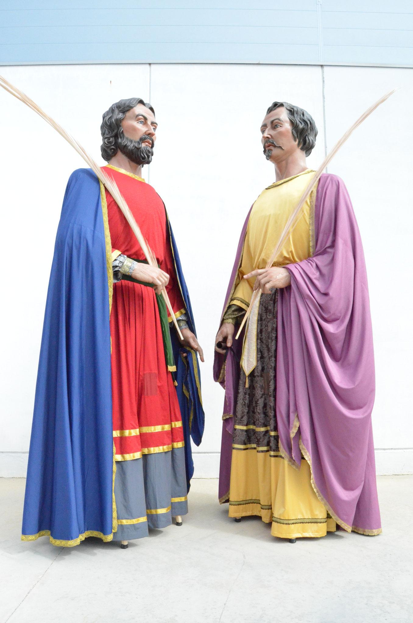 Aureolas Gigantes parròquia de sant cosme i sant damià - página web de