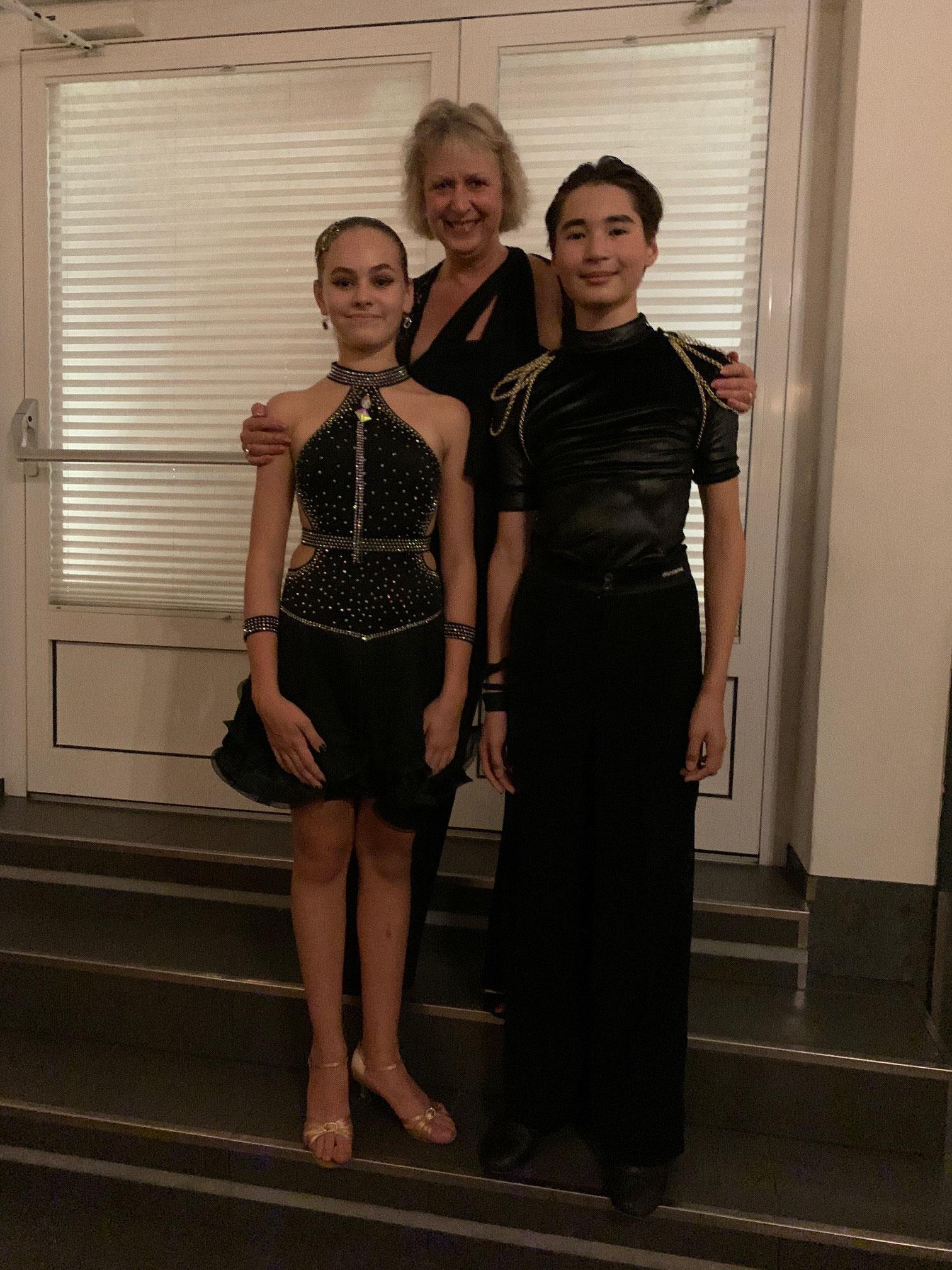 Claudia Galactic Dance mit Julia und Svjatoslav  Kategorie Jugend/Junior