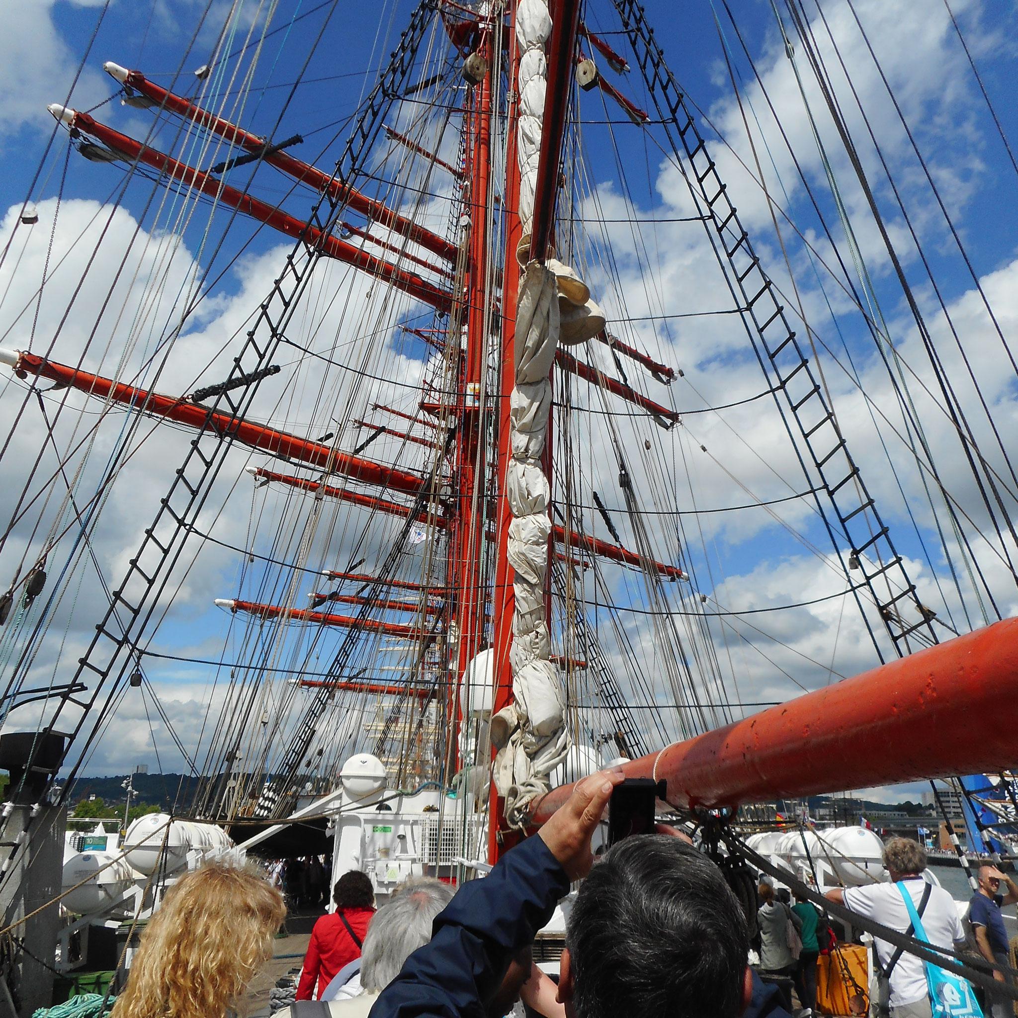Le Sedov - Russe -  Plus grand voilier au Monde