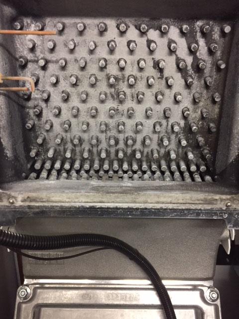 Saubere Gasheizung