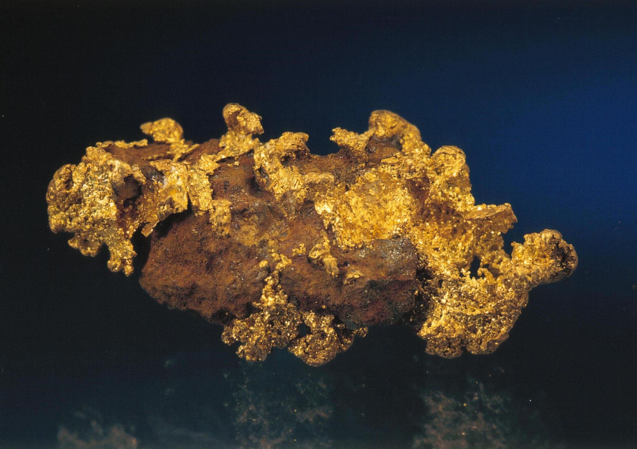 Schweizer Goldstufe 2.4gramm Finder Marcel Siegenthaler