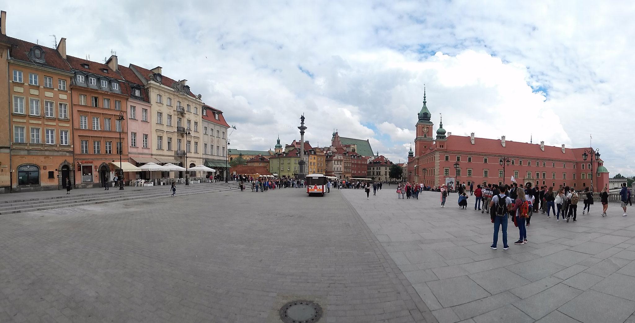 Place Zamkowy - Varsovie (Pologne)