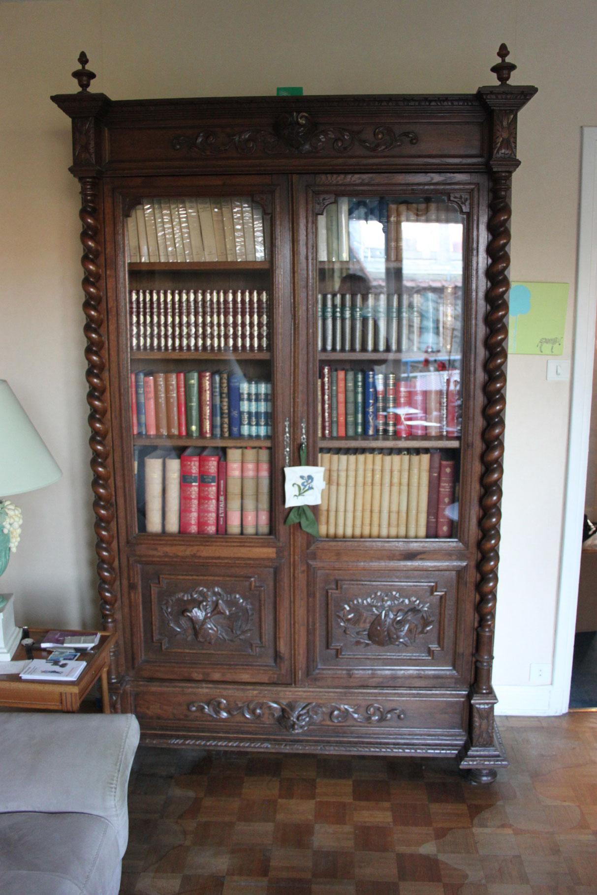 bibliotheque vitrine