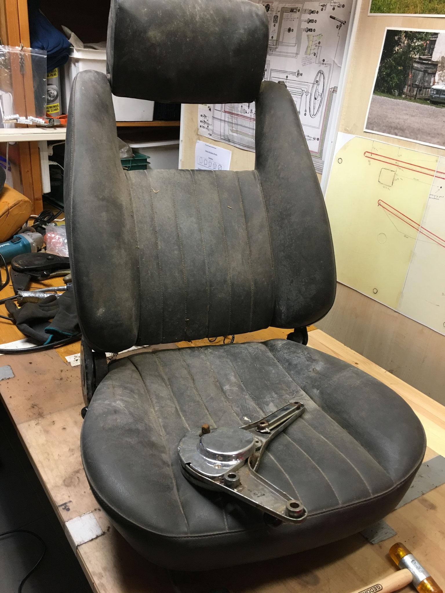 complete seat restoration