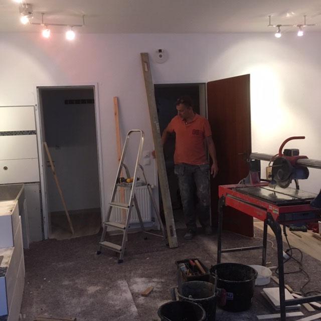 Unser Baumeister:  mein Bruder