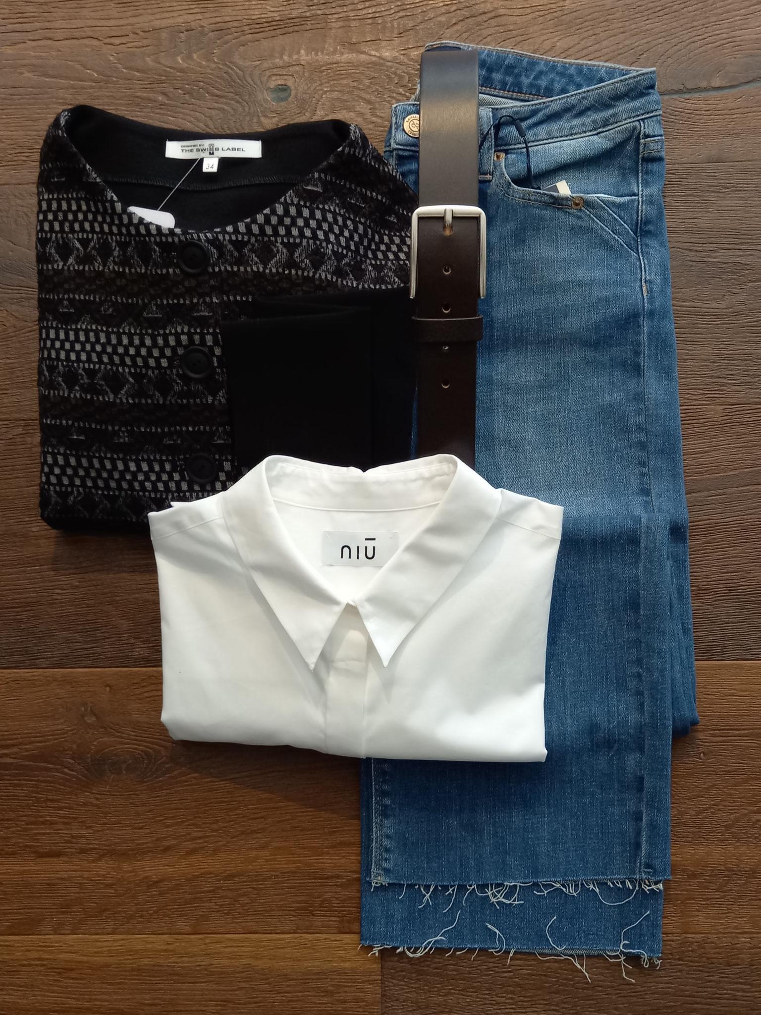 bei mir sind es Jeans - in allen Variationen - sie sind meine treuesten Begleiter :-)