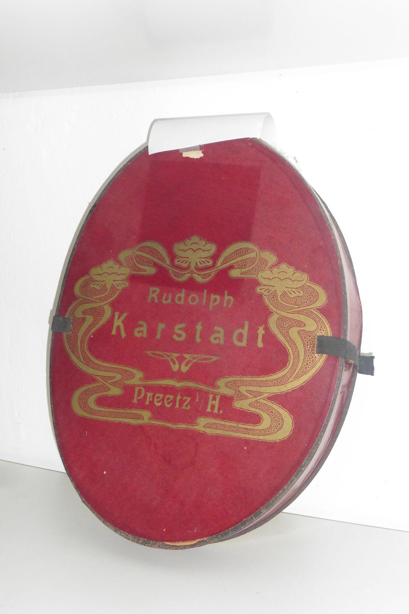 Hutschachtel der Firma Karstadt für Zylinder