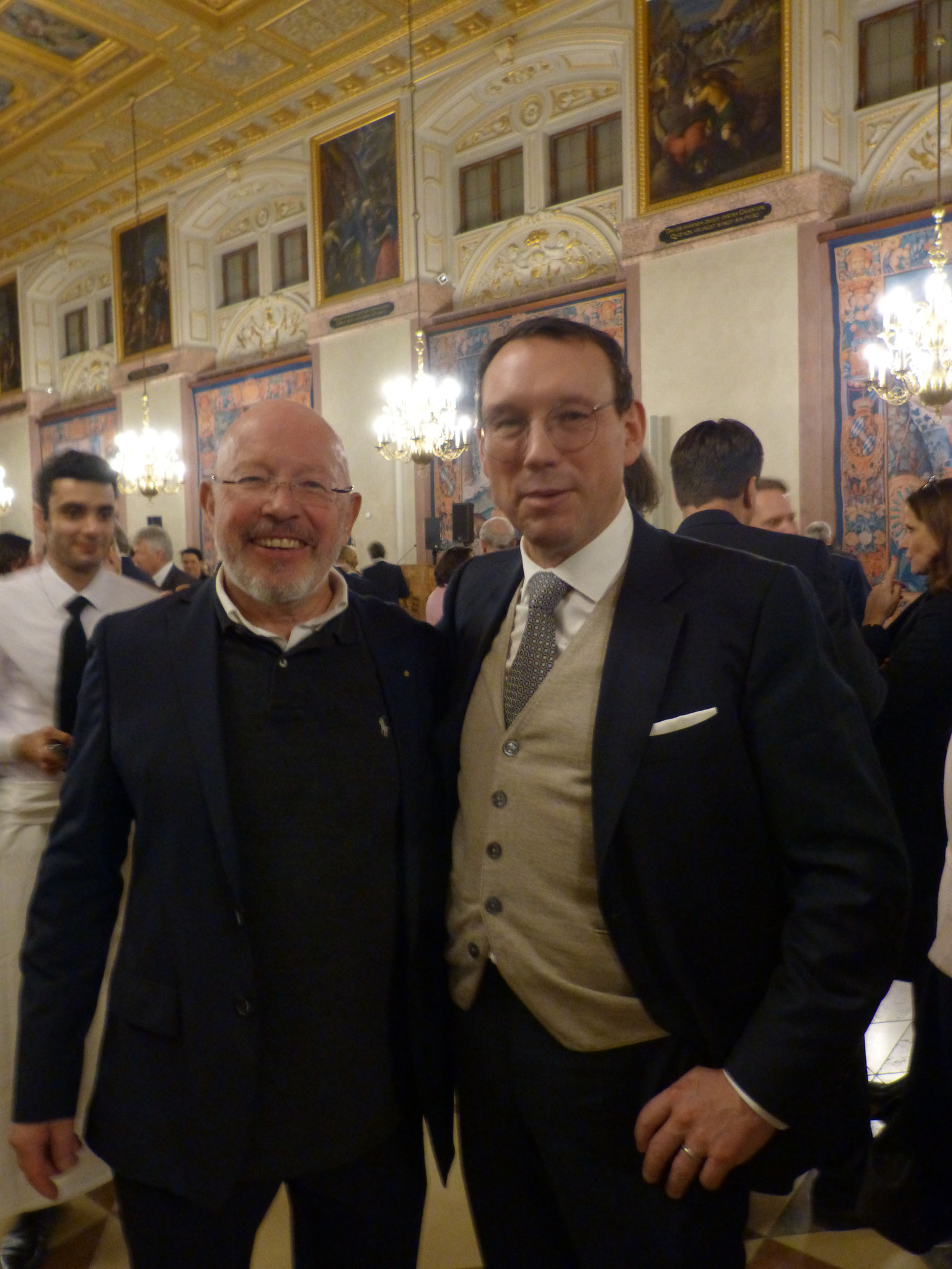 BRSI Vorstand Dr. Dieter Körner im Gespräch mit Herrn Hans Hammer Vizepräsident des Wirtschaftsbeirates der Union und Vorstandsvorsitzender der Hammer AG