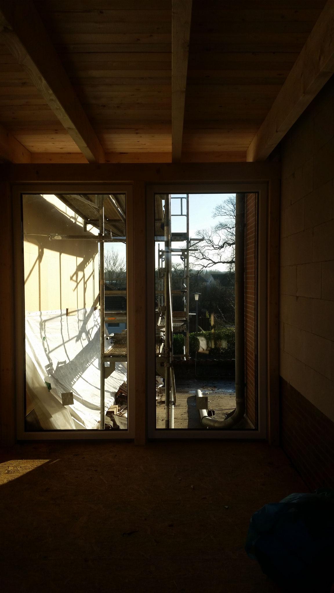 Fenster im Übergangsbereich