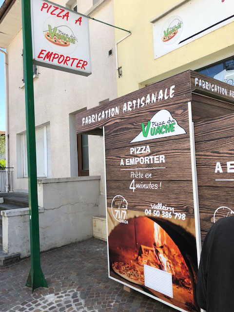 Distributeur Pizza du Vache