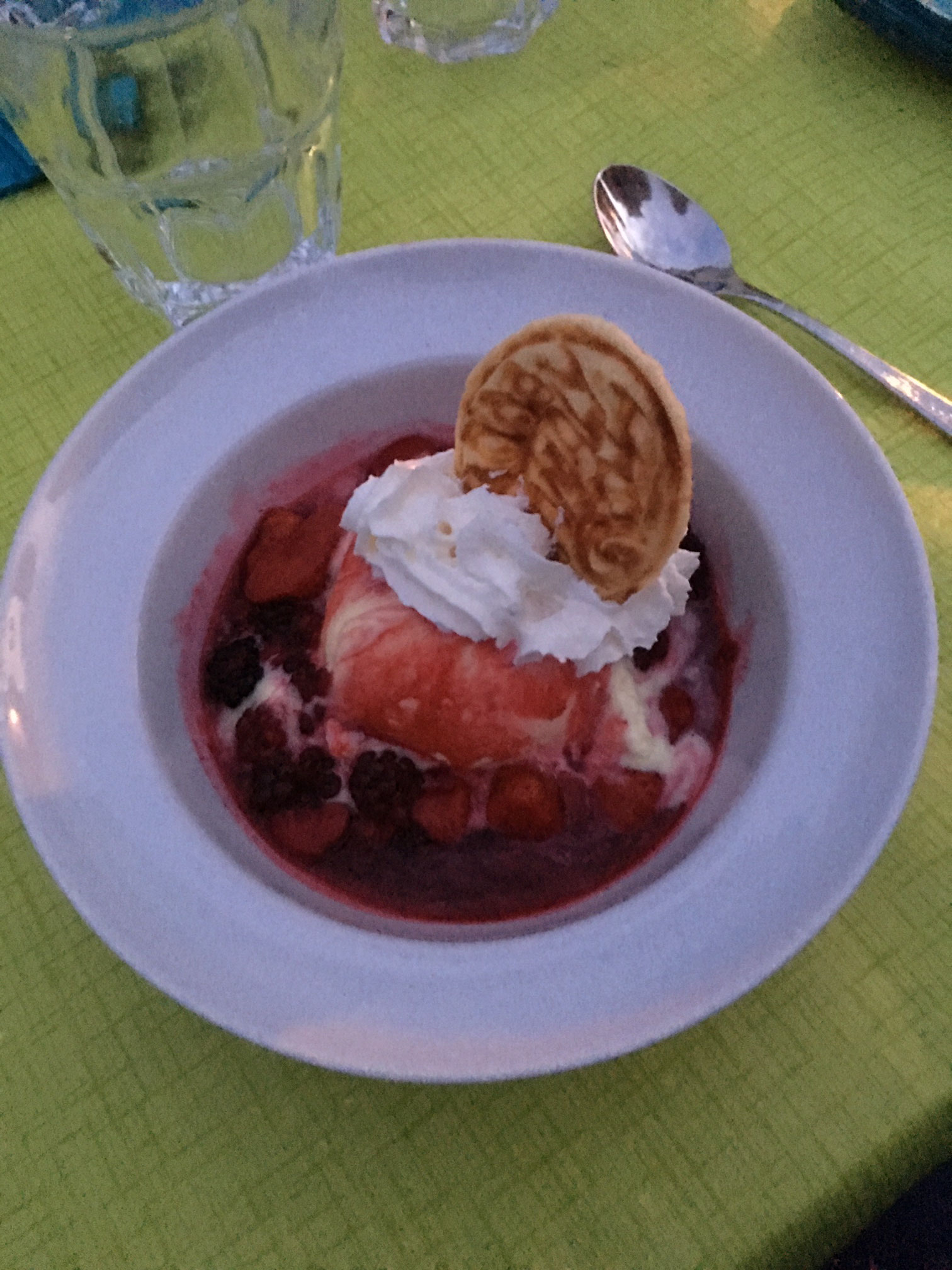 es feins Dessert !