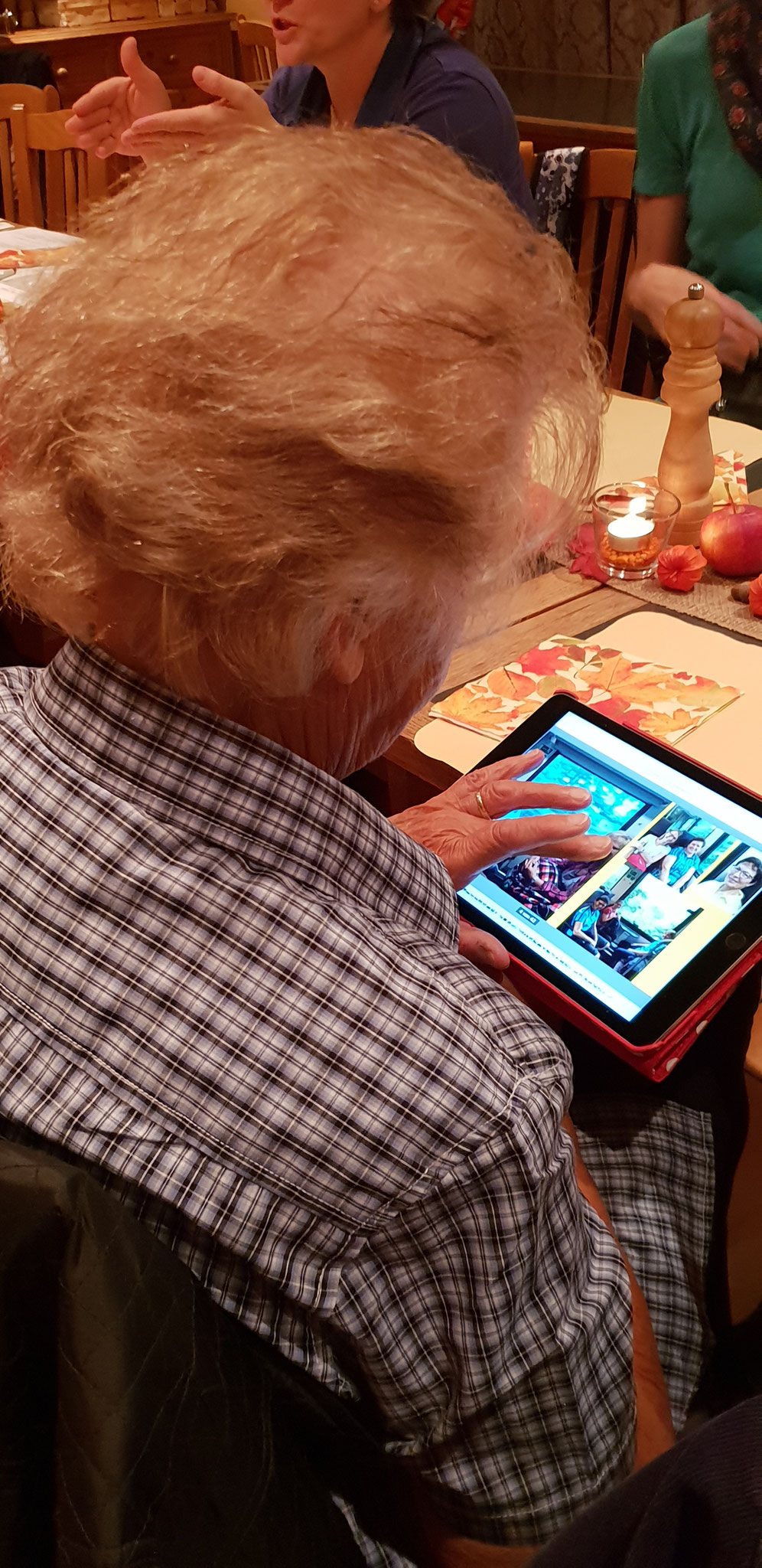 ..modern auf dem iPad