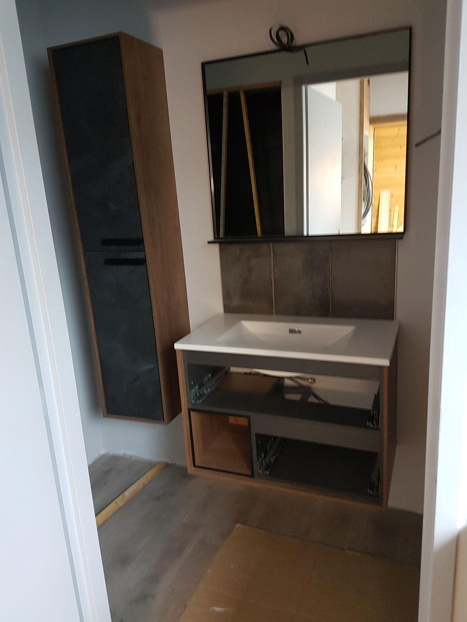 Fabrication et pose de salle de bain