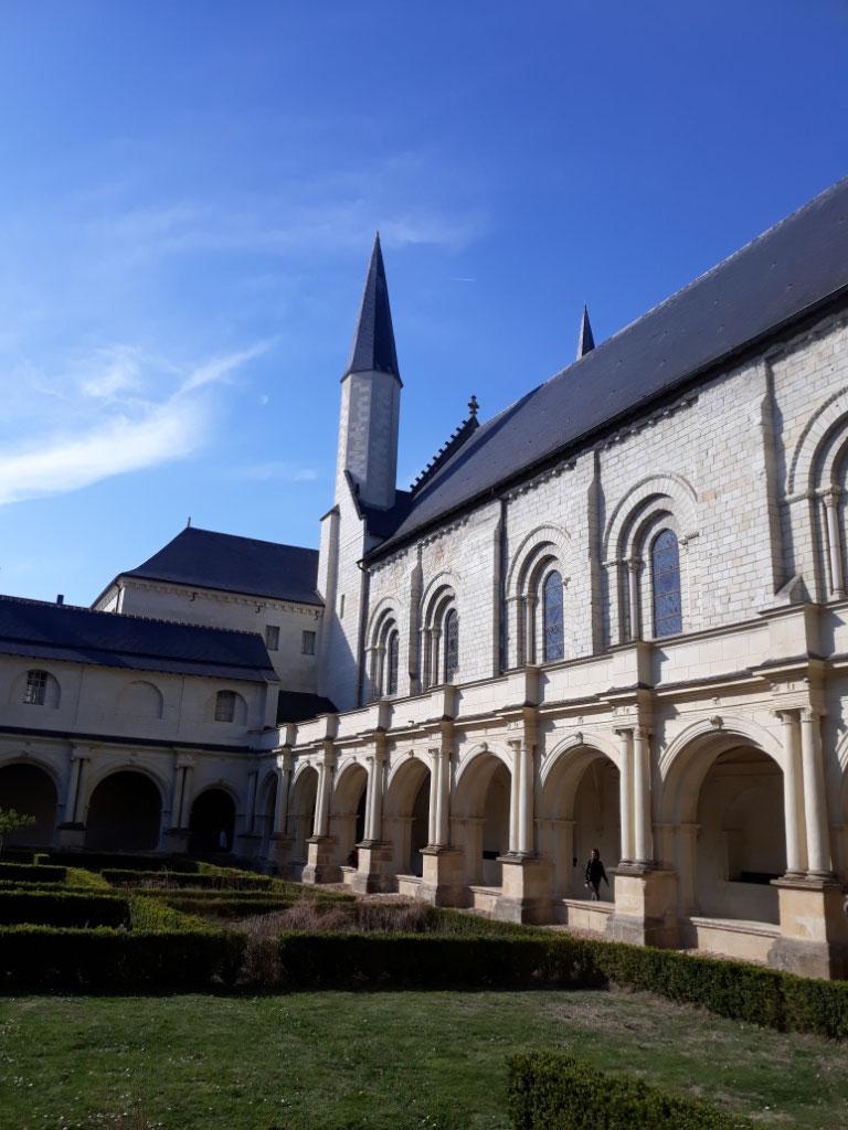 Cloître abbaye Fontevraud