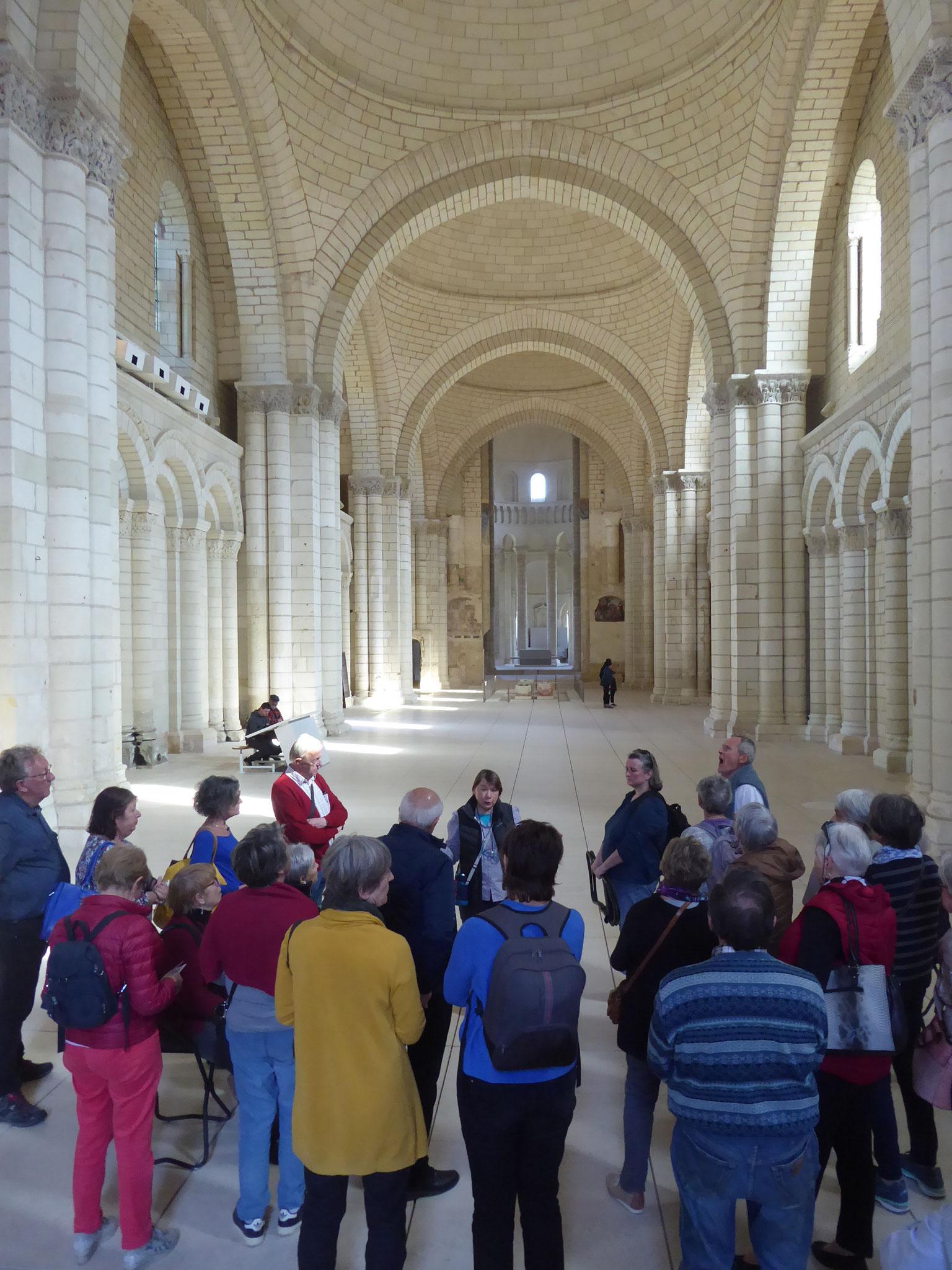 Abbaye de Fontevraud groupe