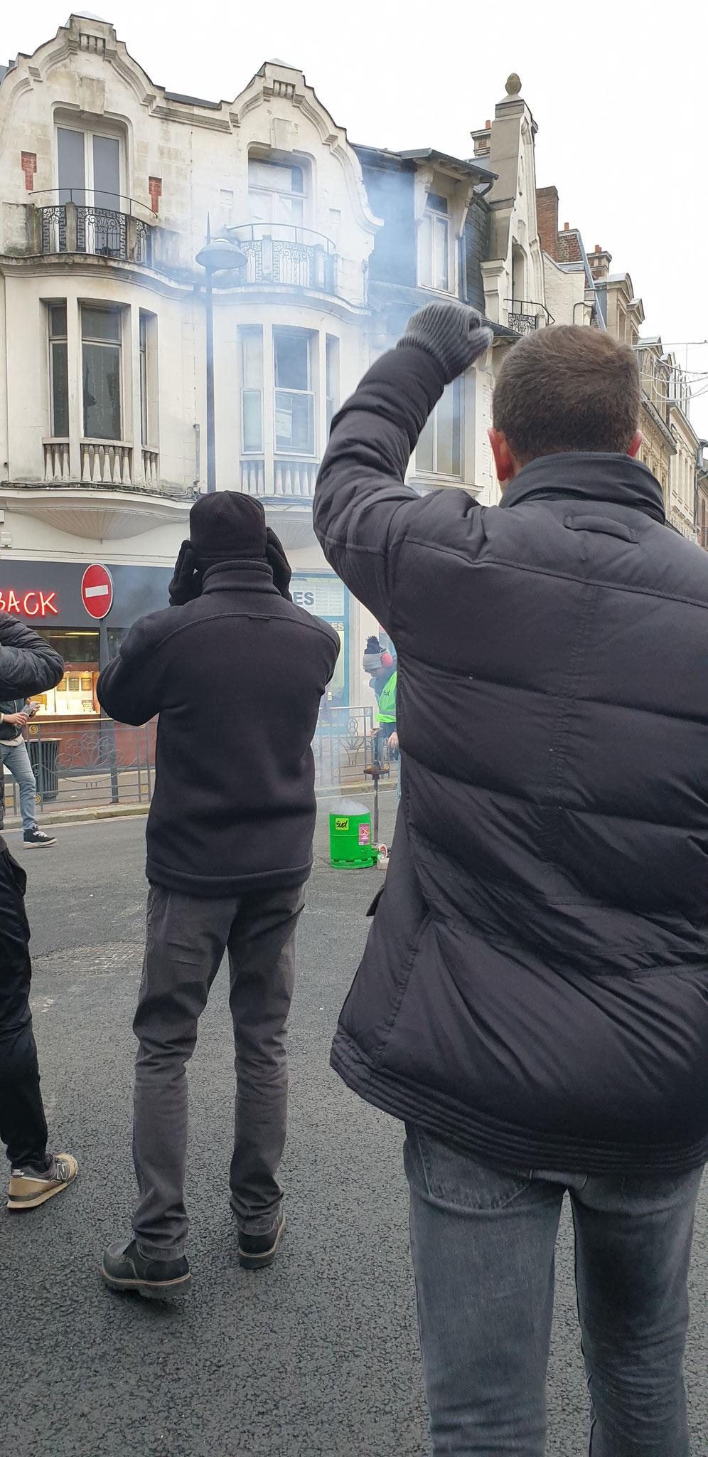 Manifestation du 24 Janvier 2020 à SAINT-QUENTIN (02)