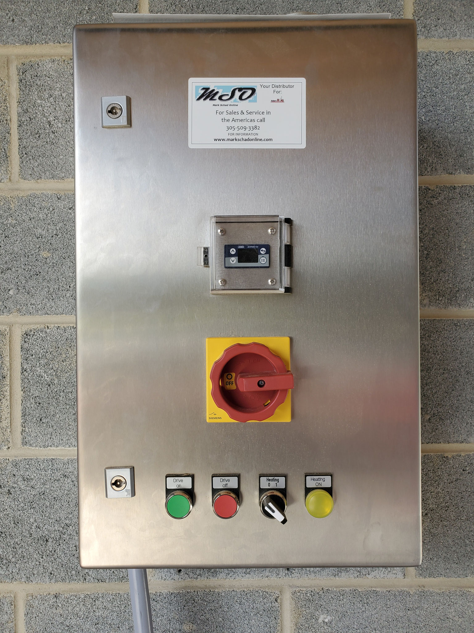 Wall Mounted Controls-Electric
