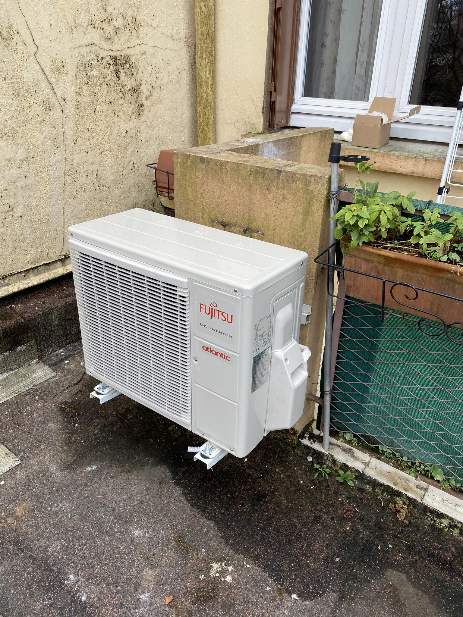 Installation d'une climatisation Monosplit Toulouse