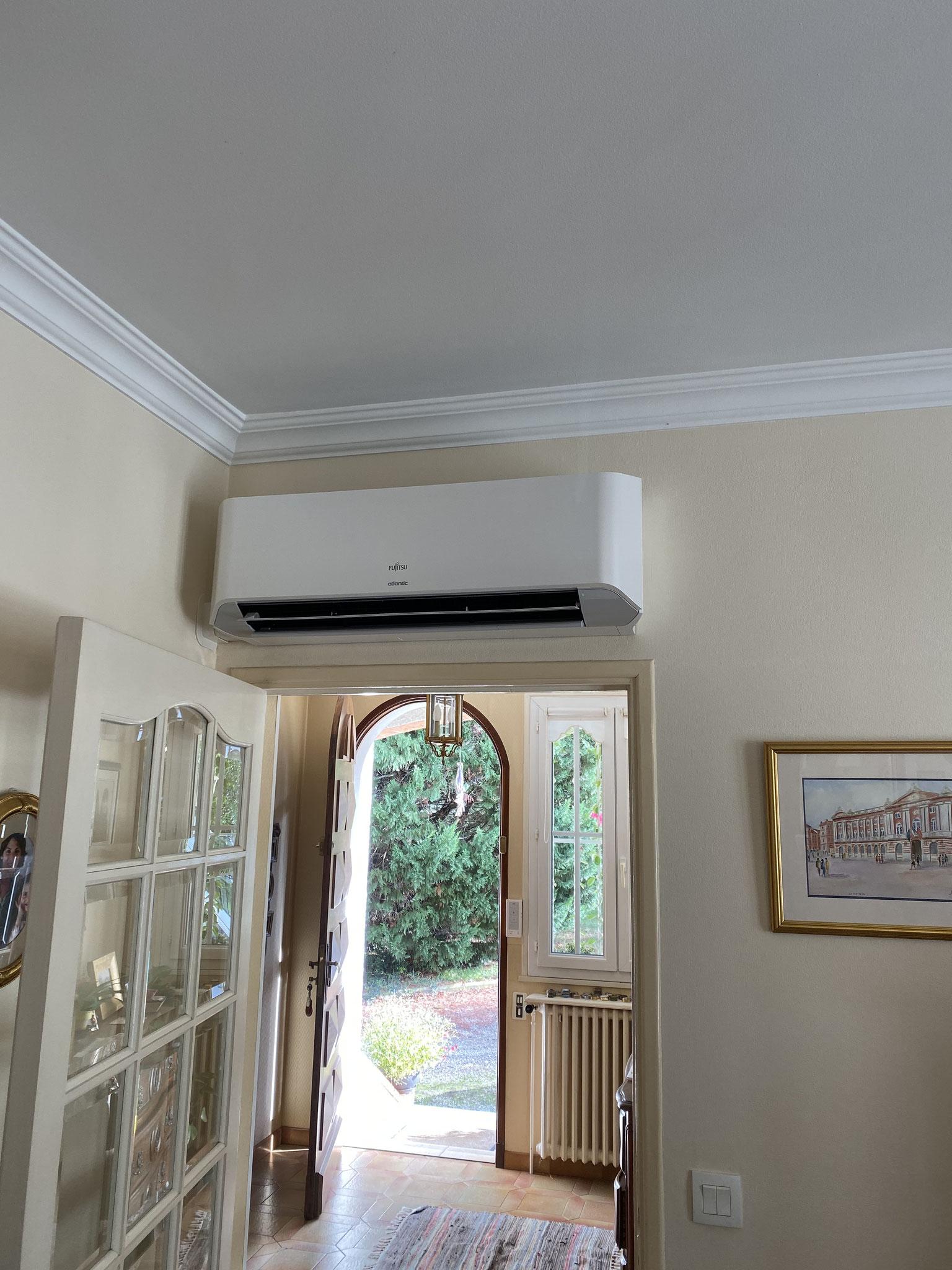 Installation d'une climatisation Multisplit Venerque