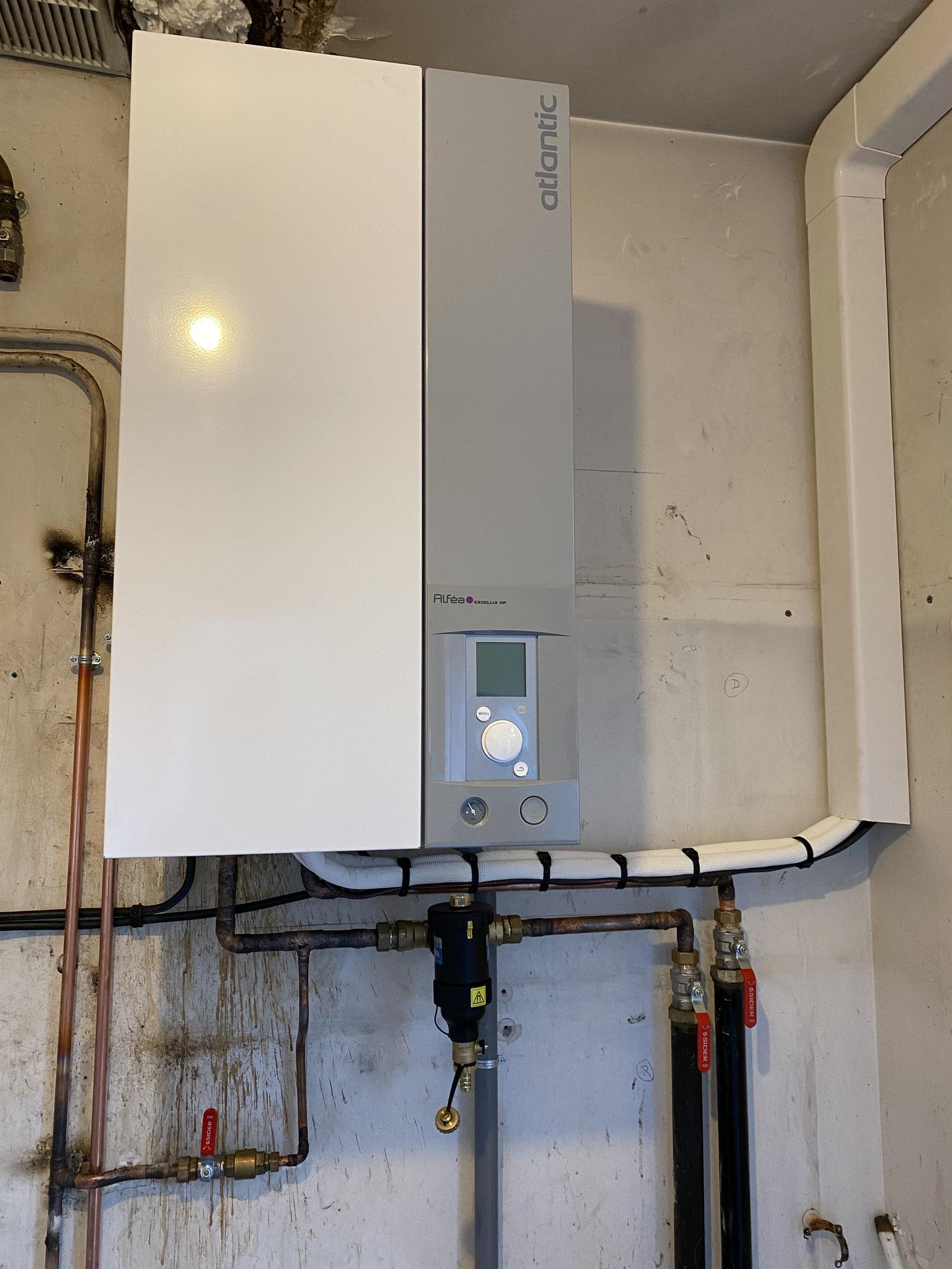 Installation d'une Pompe à chaleur air eau Pechabou