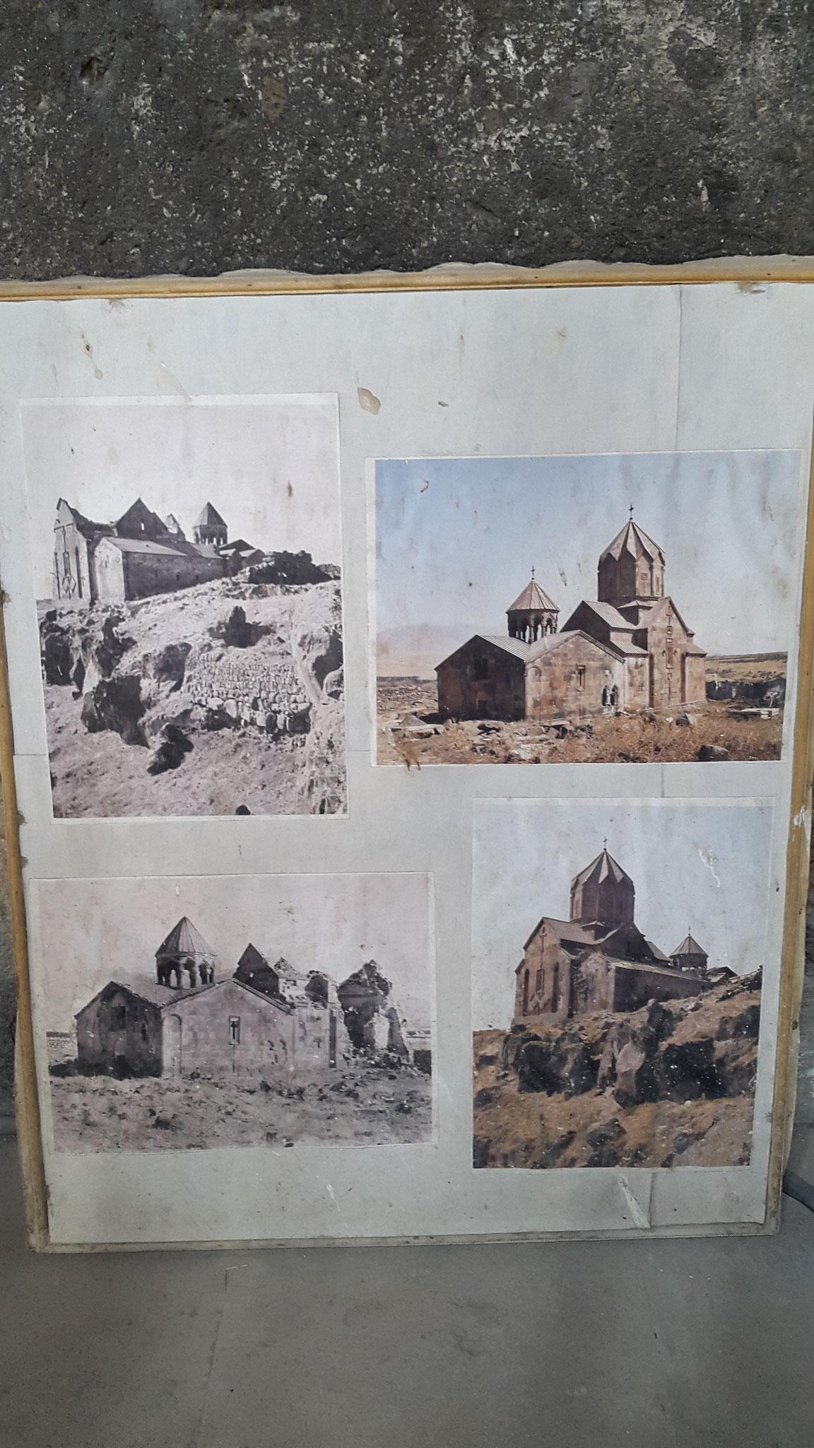Fotos der Ruinen von 1918