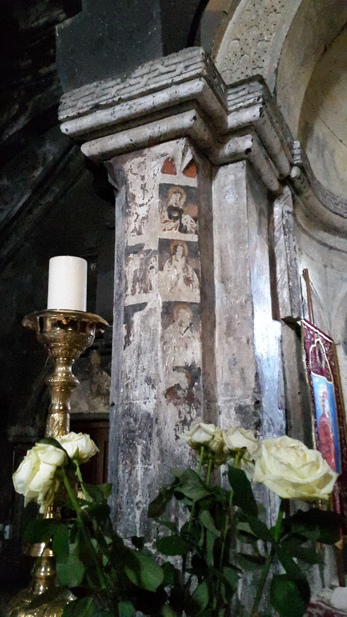 Fresken in der Klosterkirche Saghmosavank