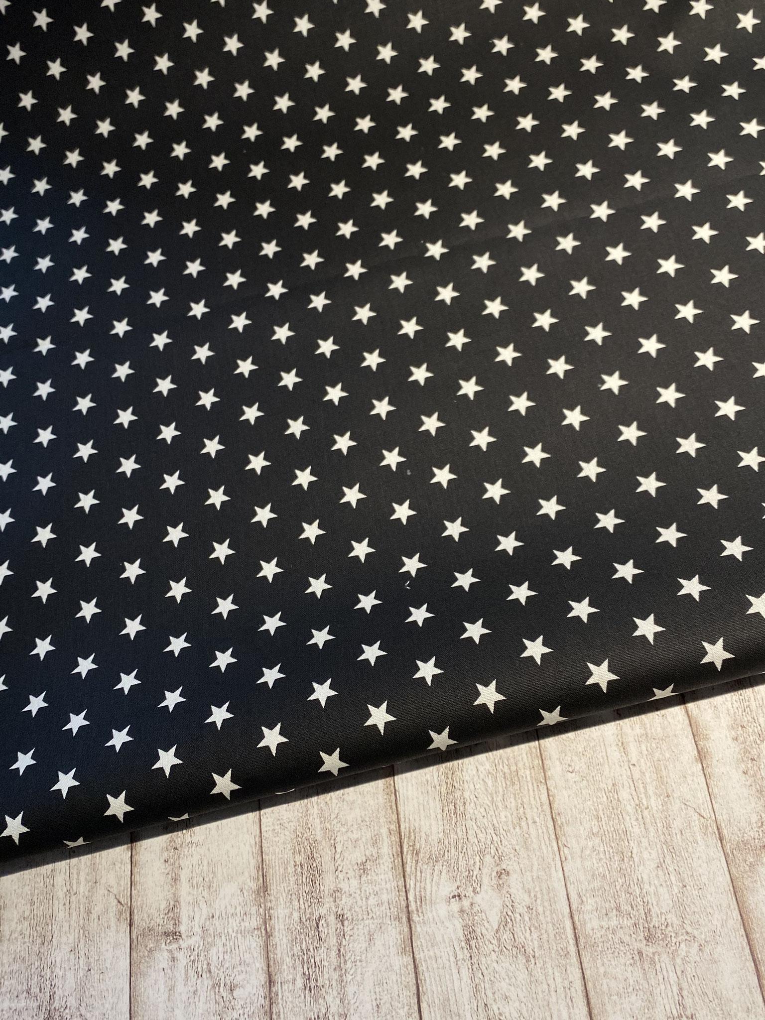 Sterne schwarz / weiß