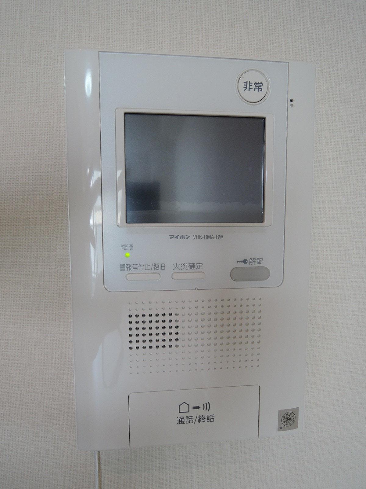カラーTVモニター付インターホン