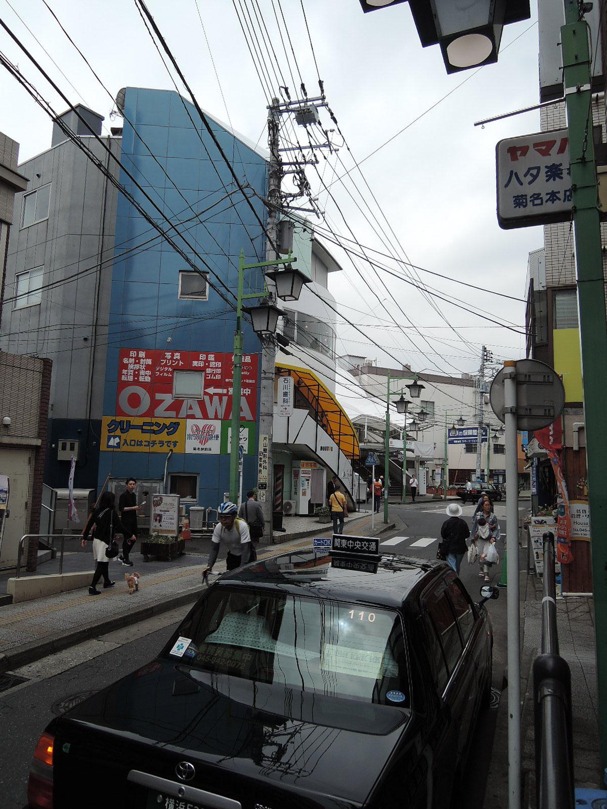 東口の商店街