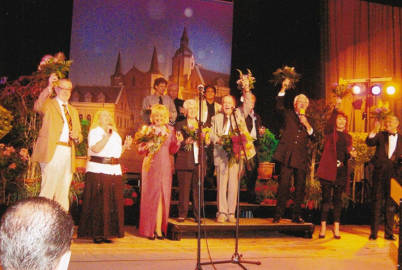 Gala zum 80. Geburtstag Siegfried Jordans, Stadthalle Meerane, 2009