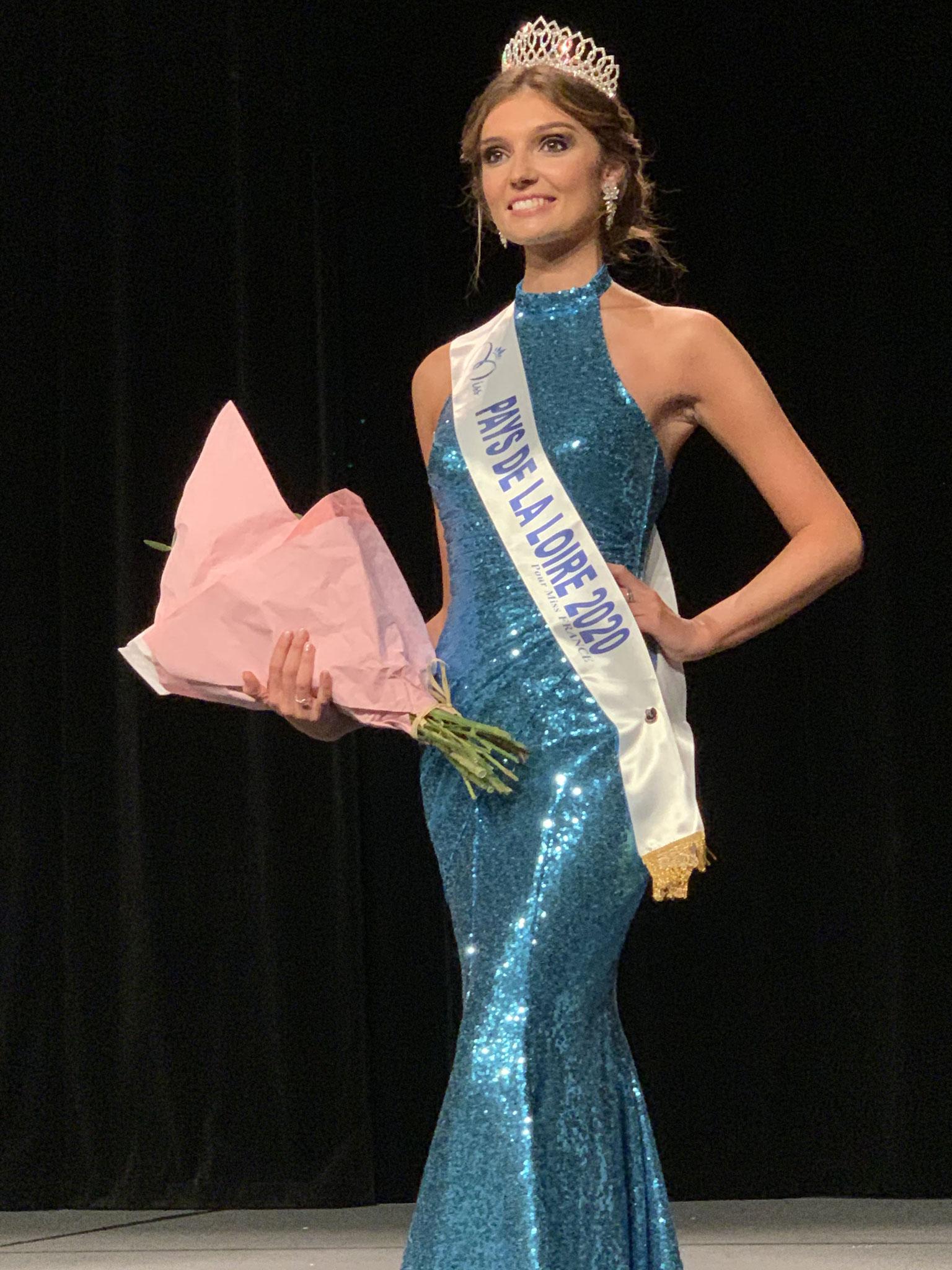 Julie-Miss Pays de la Loire 2020