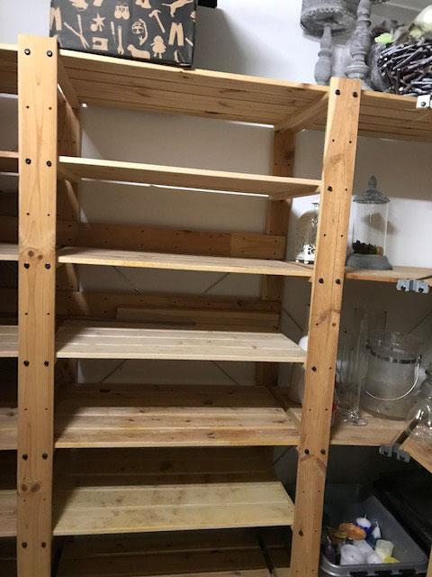 Schritt 1: Wir räumen den gesamten Keller leer