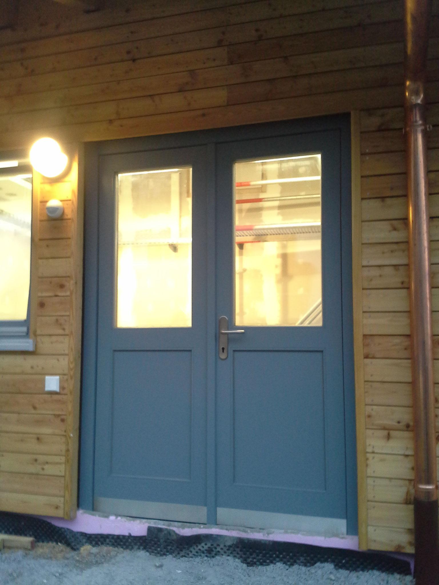 2 - teilige Werkstatt - Türe