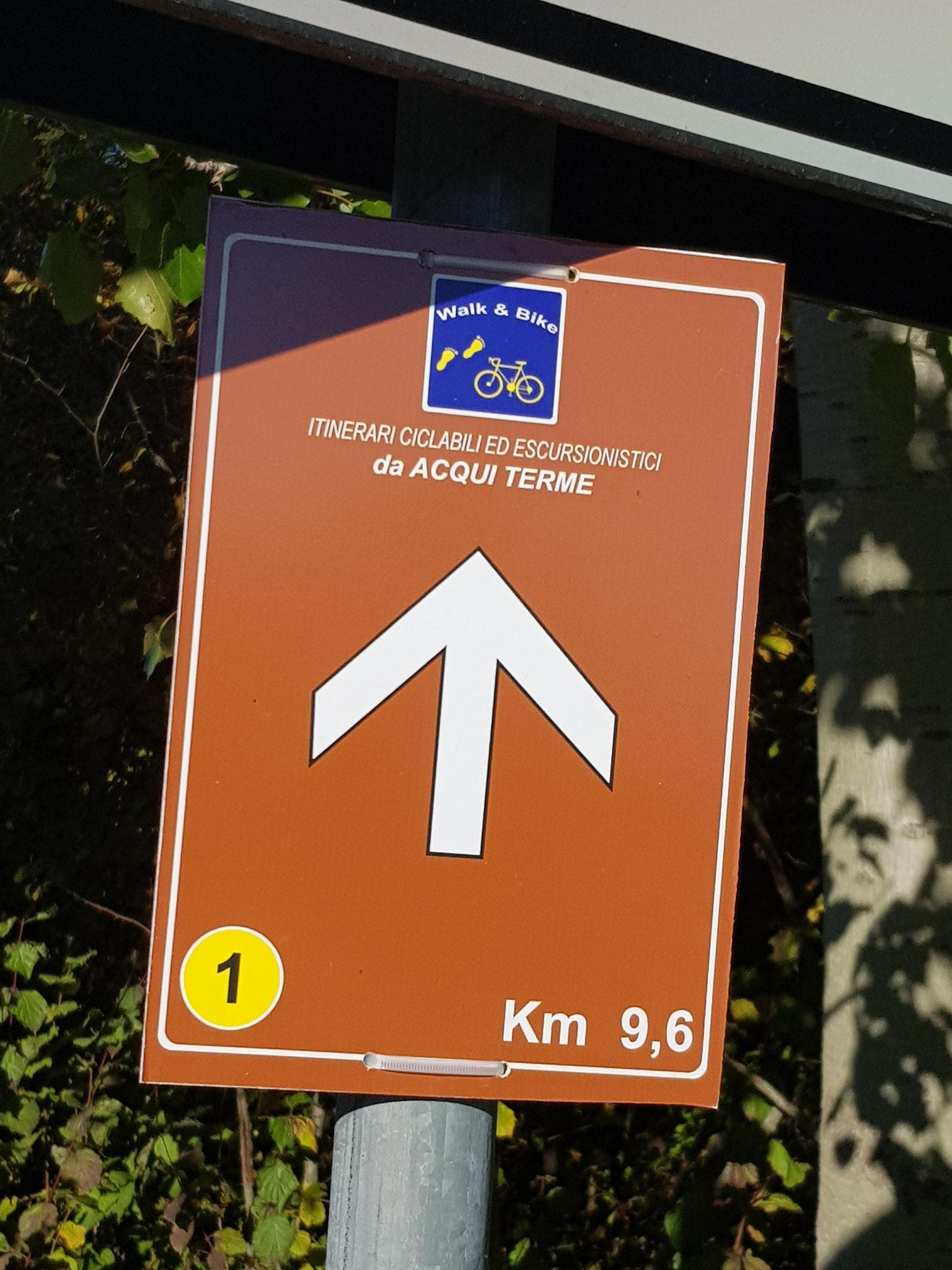 Diese Route ist rund 20 km lang. Die erkunden wir in Etappen.