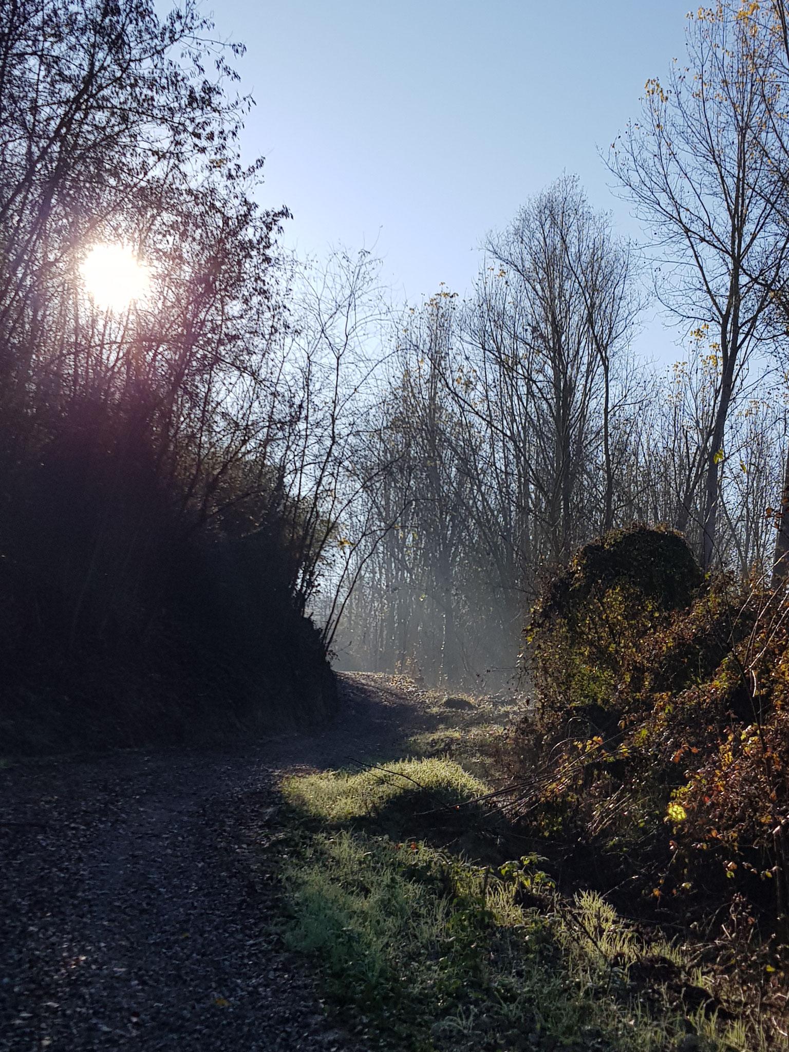 Mystischer Weg von Fontanile nach Alice Bel Colle.