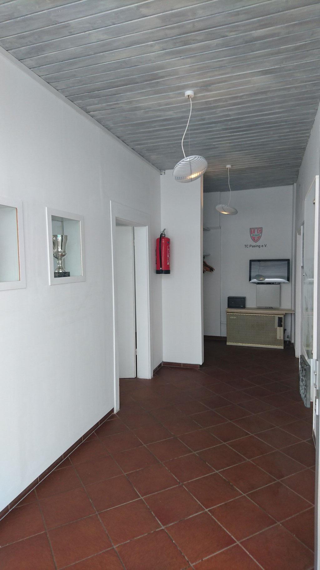 Tennis, München, Pasing, Eingangsbereich