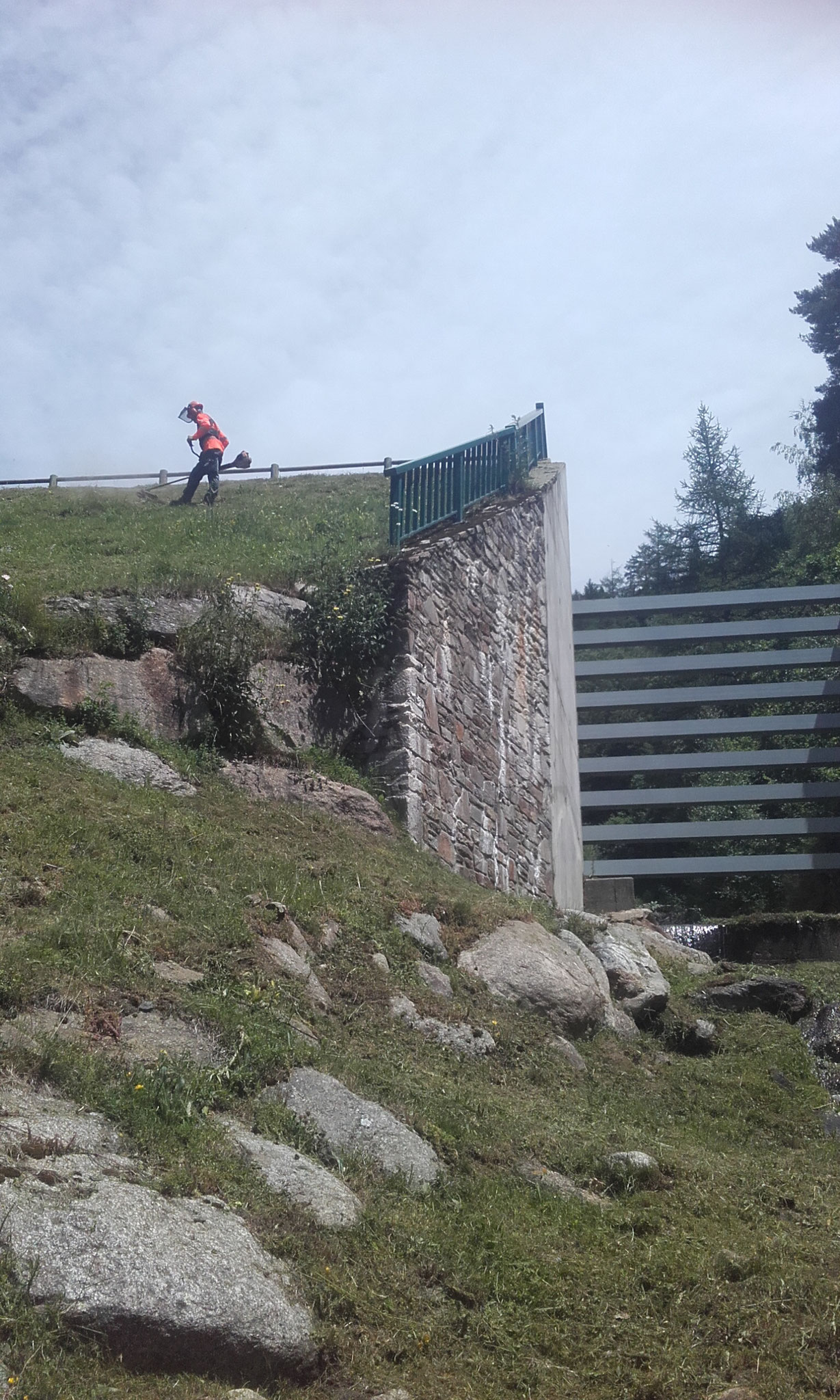 Barrage RTM à Mérens