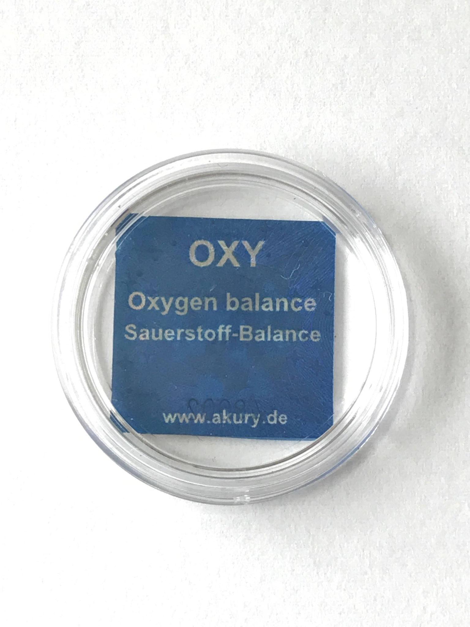 酸素のバランス