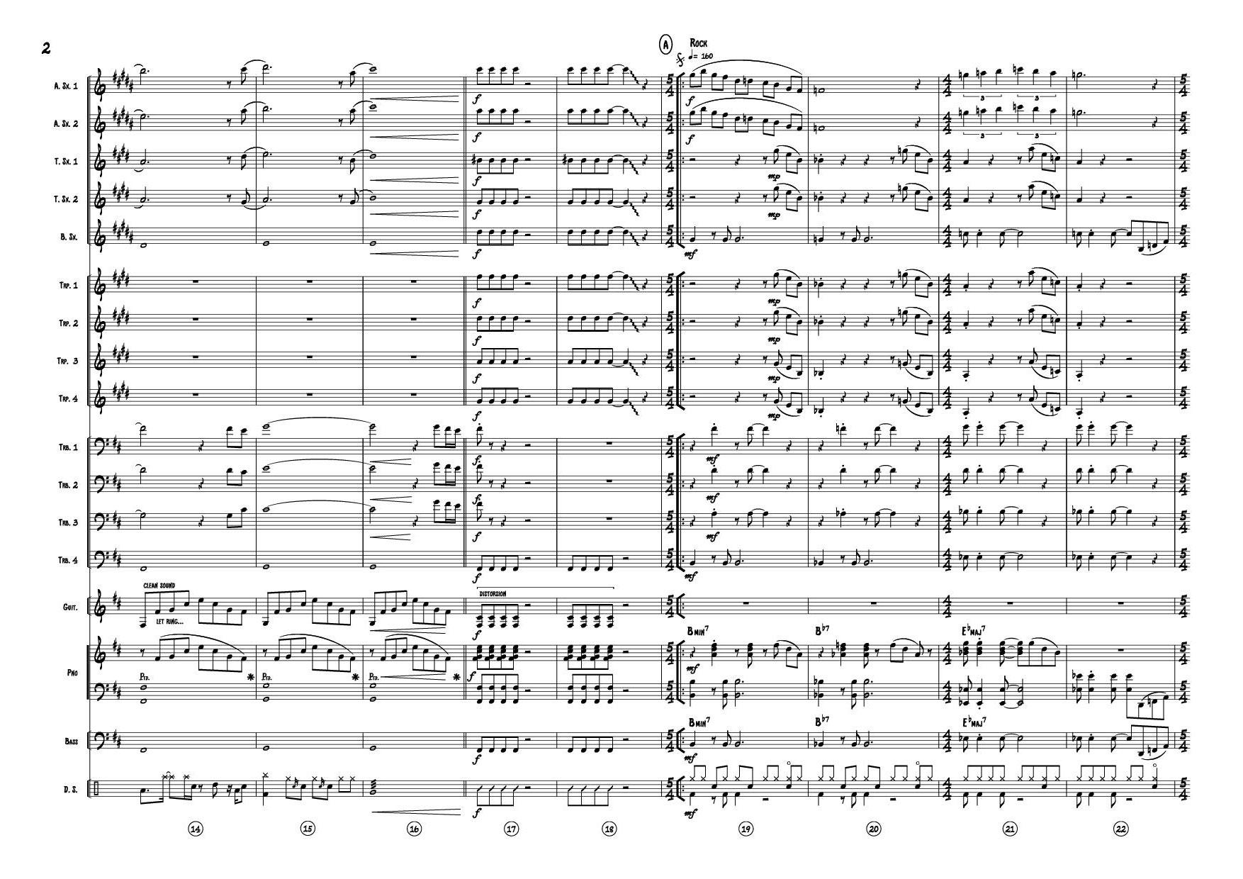 FORMATION JAZZ - BIG BAND-Guten tag Stravinsky-Bergeron