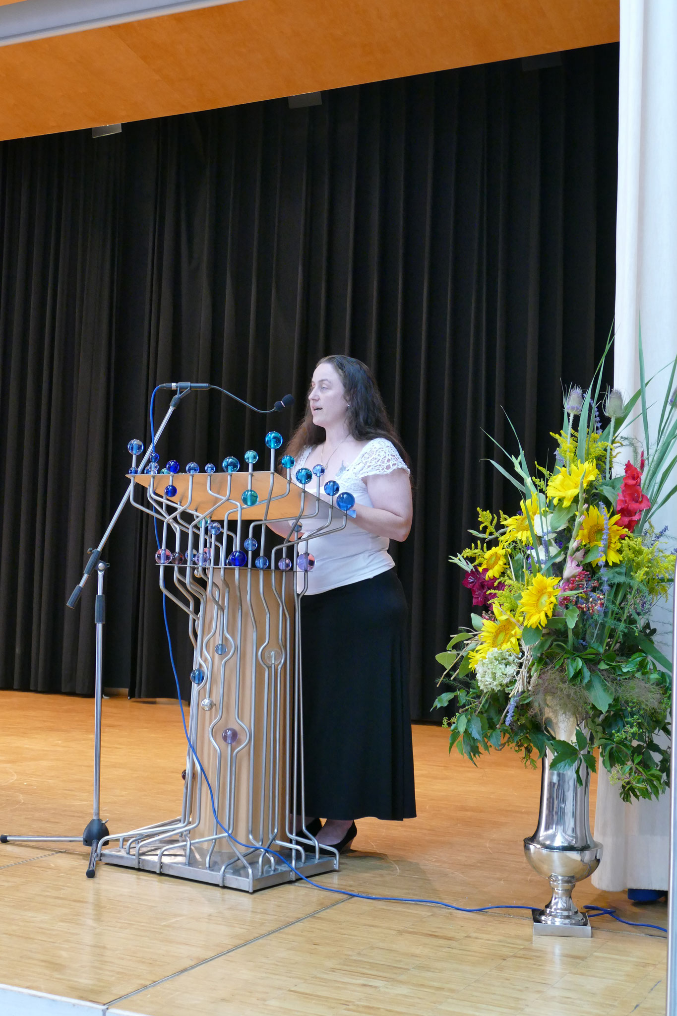 Vorsitzende des Elternbeirats: Anita Michl