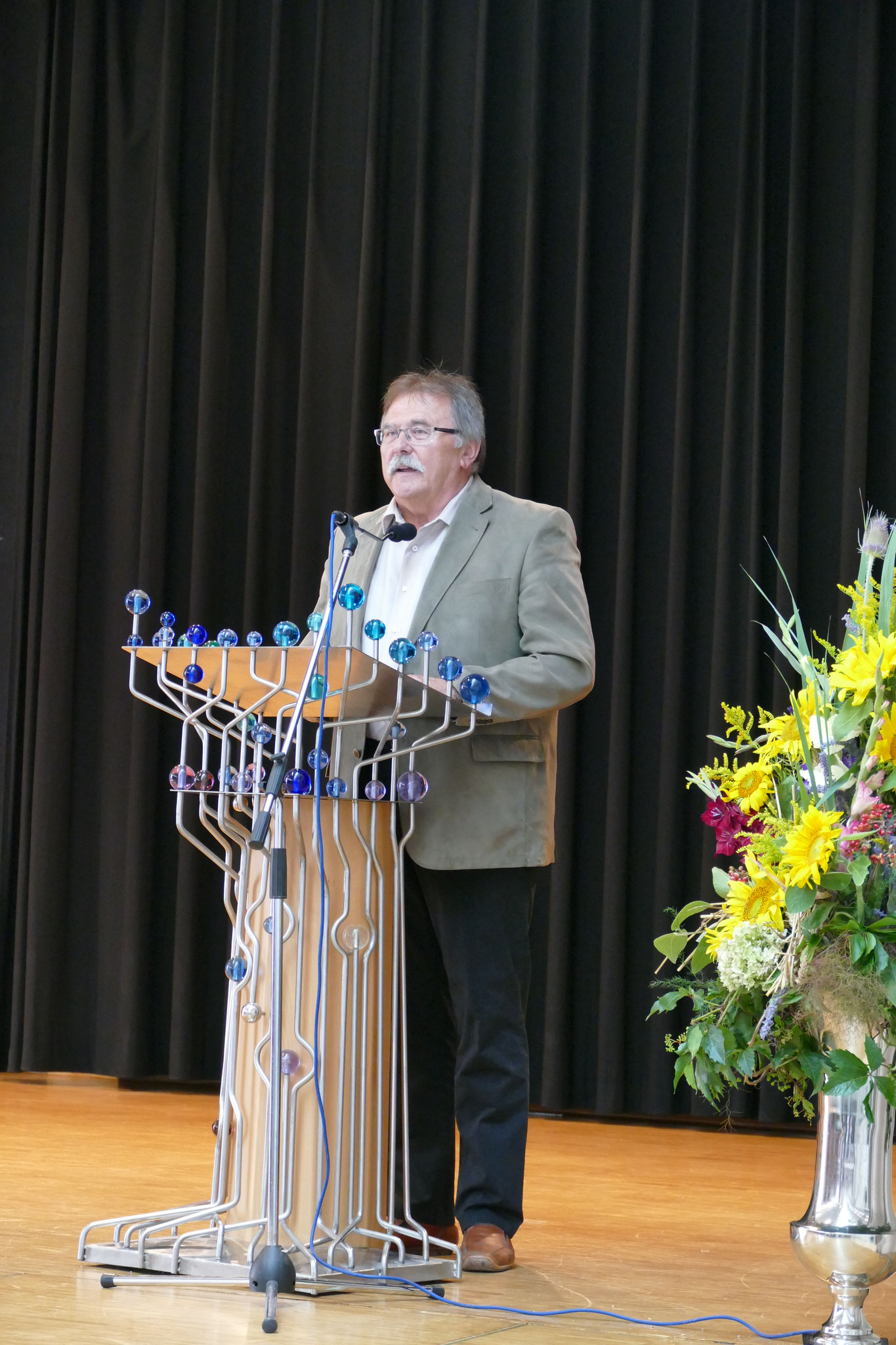 Grußwort des stellvertretenden Landrats Willibald Hogger