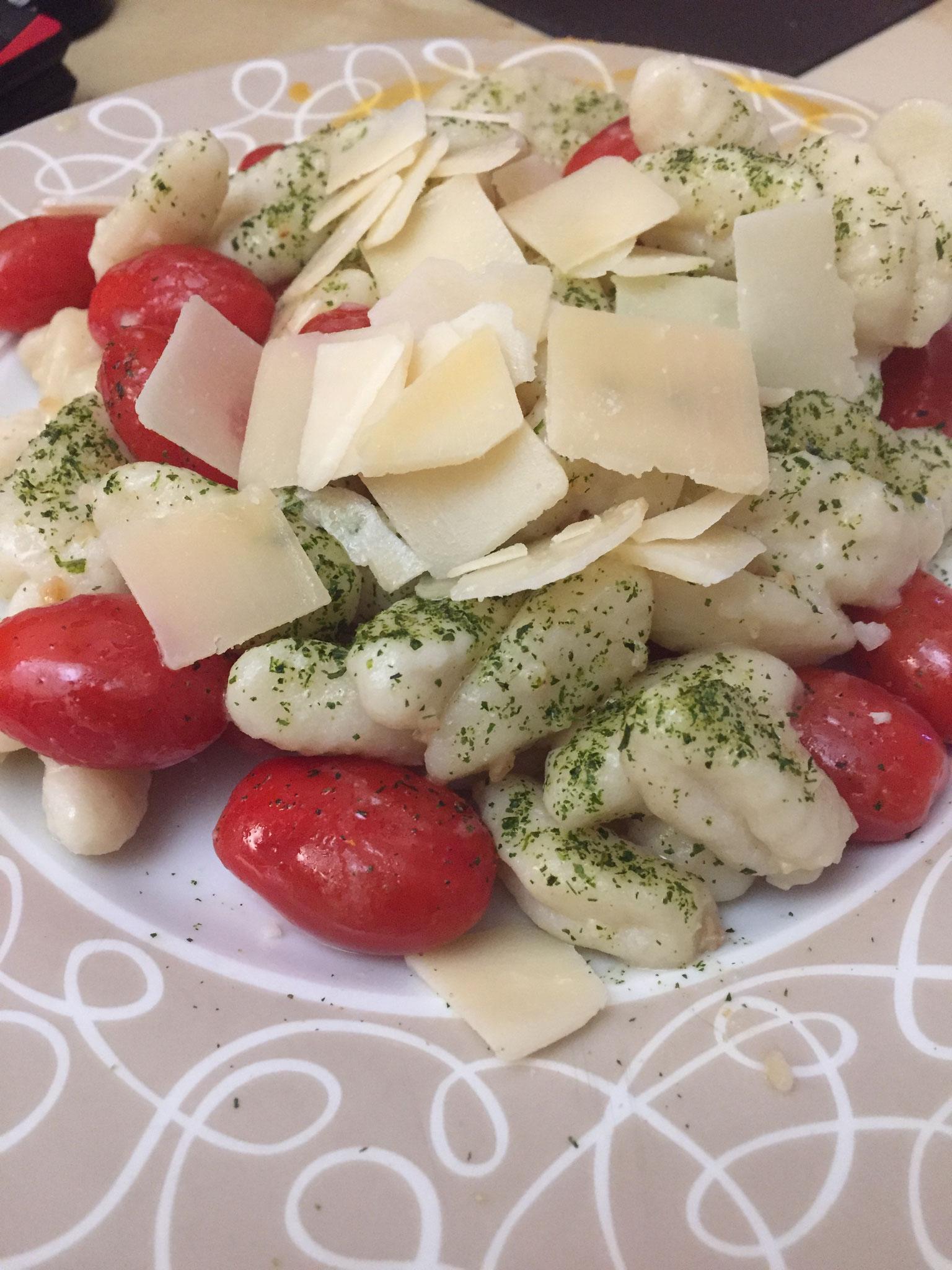 mediterane Kartoffel-Knocchis
