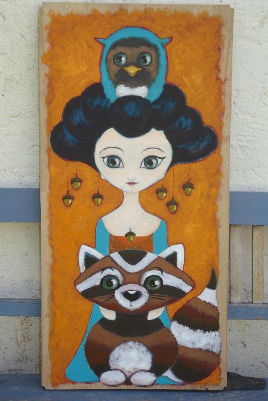 Geisha - Waschbär