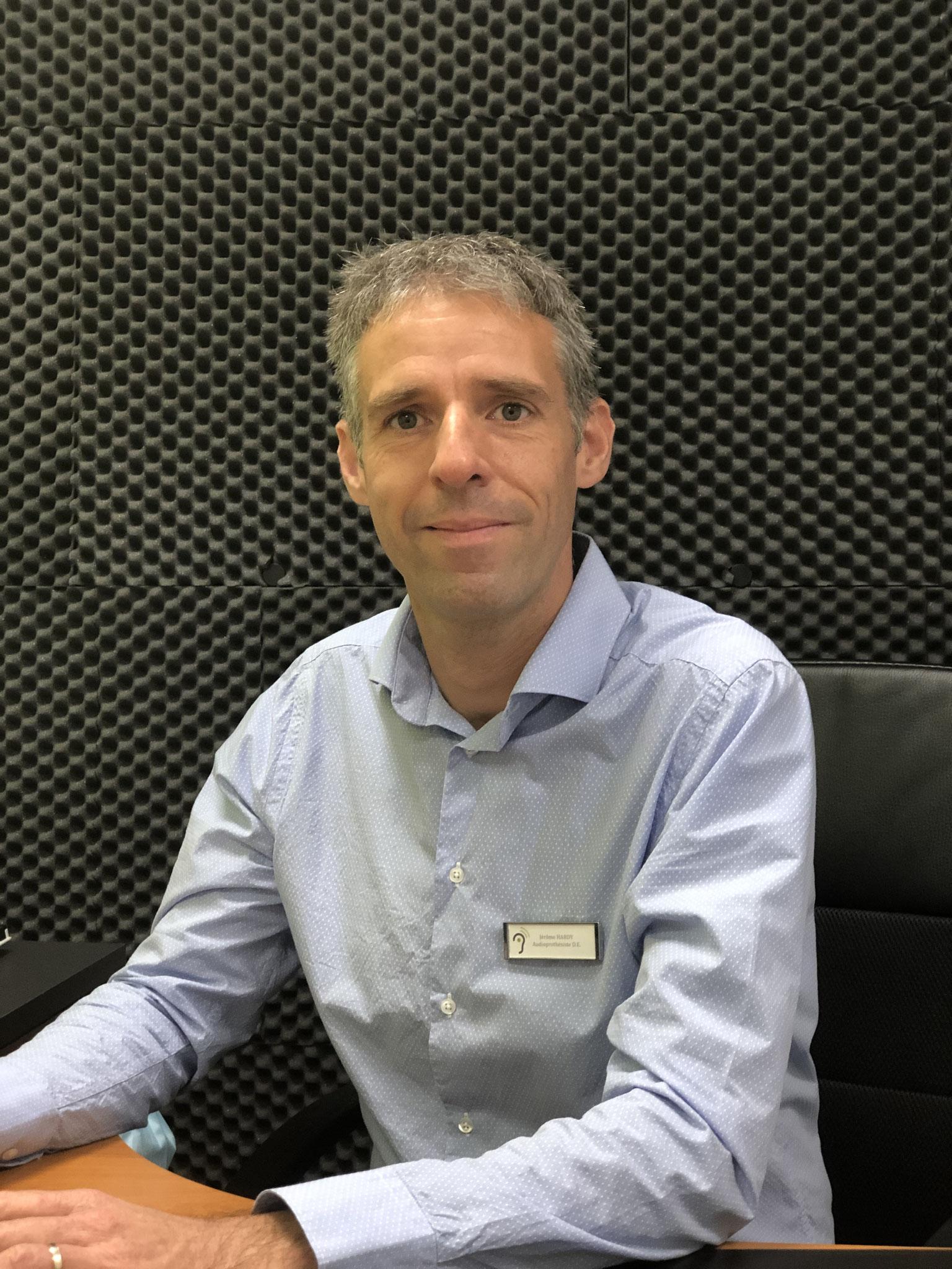 Jérôme HARDY - Audioprothésiste à St-Nazaire