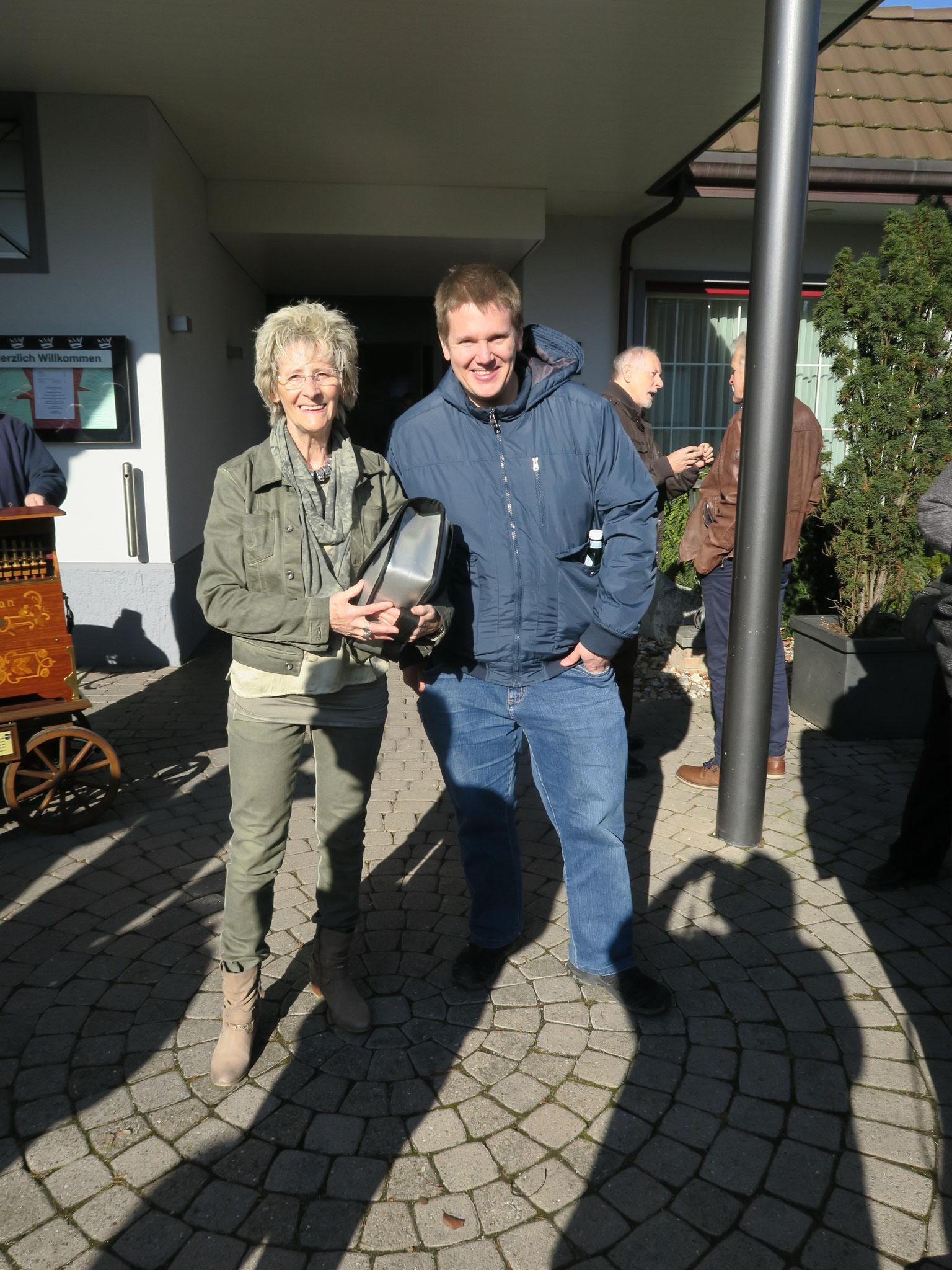 Helen Suter und Stefan Lehmann