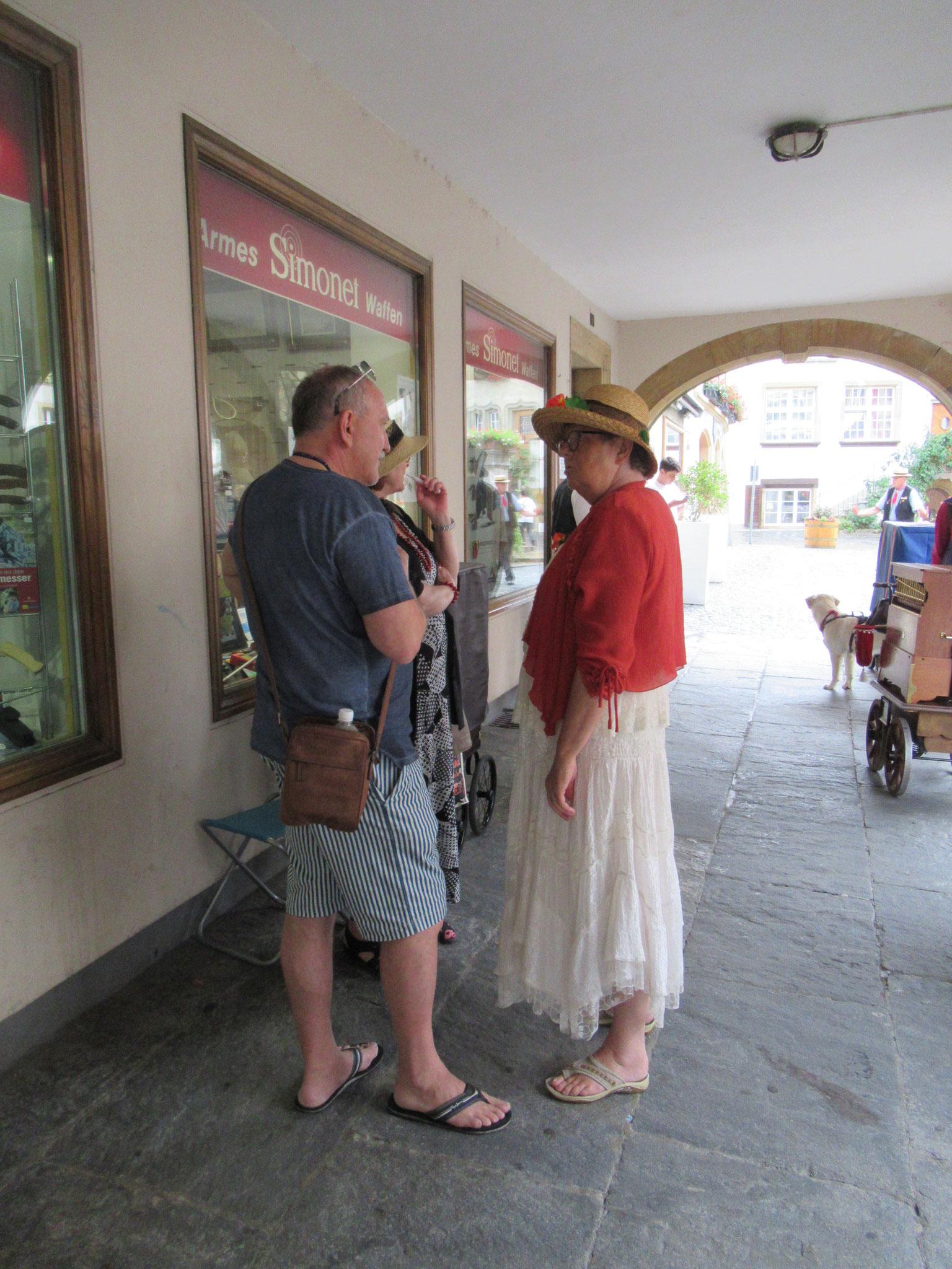 Martin Fürst von Murten Tourismus im Gespräch mit Evi Widmer