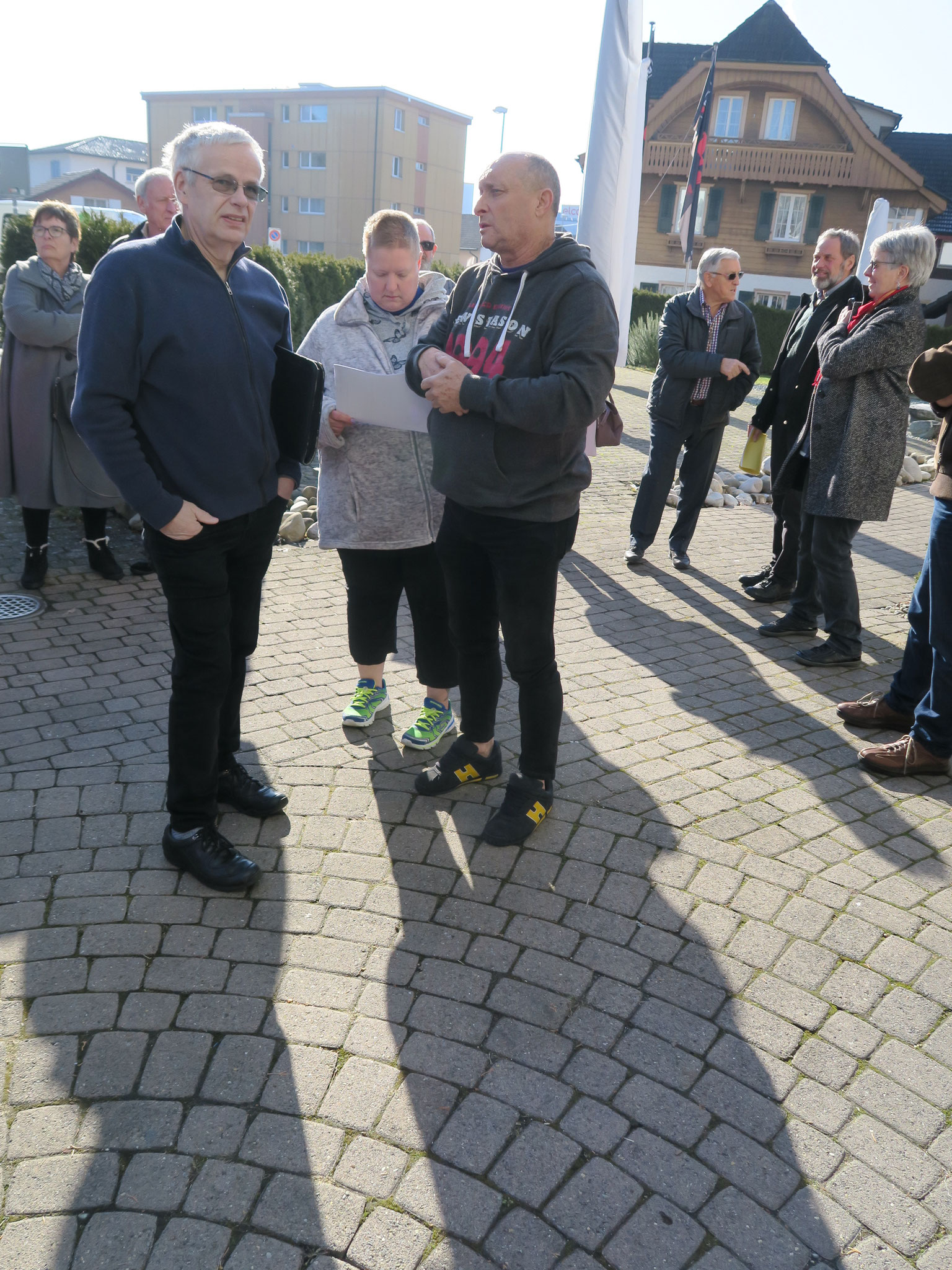 Markus Waber, Jacqueline Ruppli und Wisi Schwyter