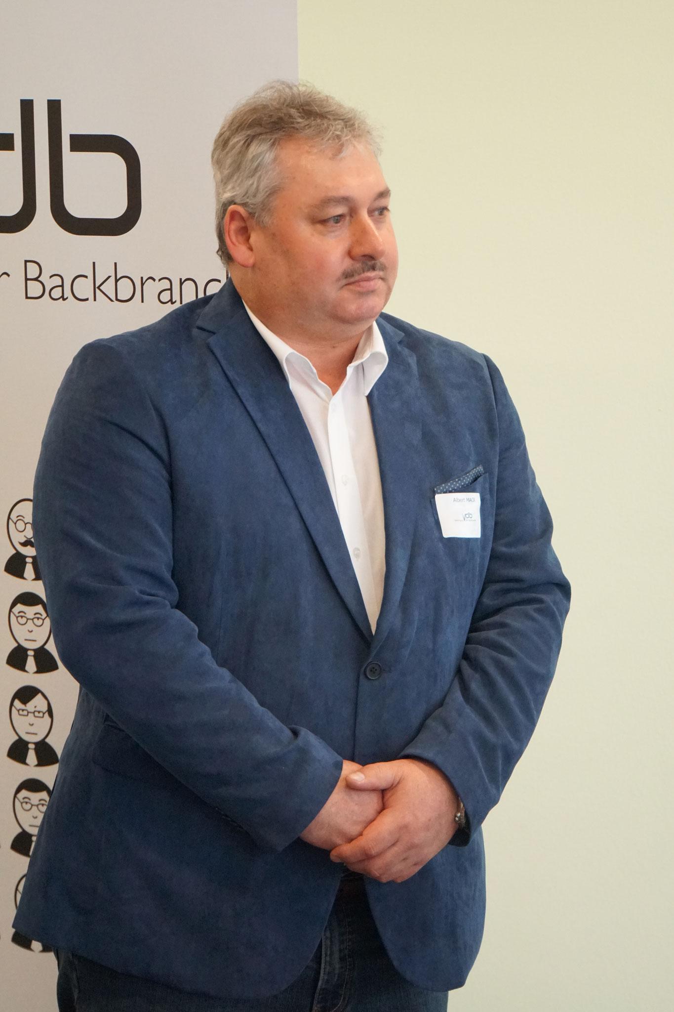 VDB-Ehrenmitglied Hr. Albert Mack