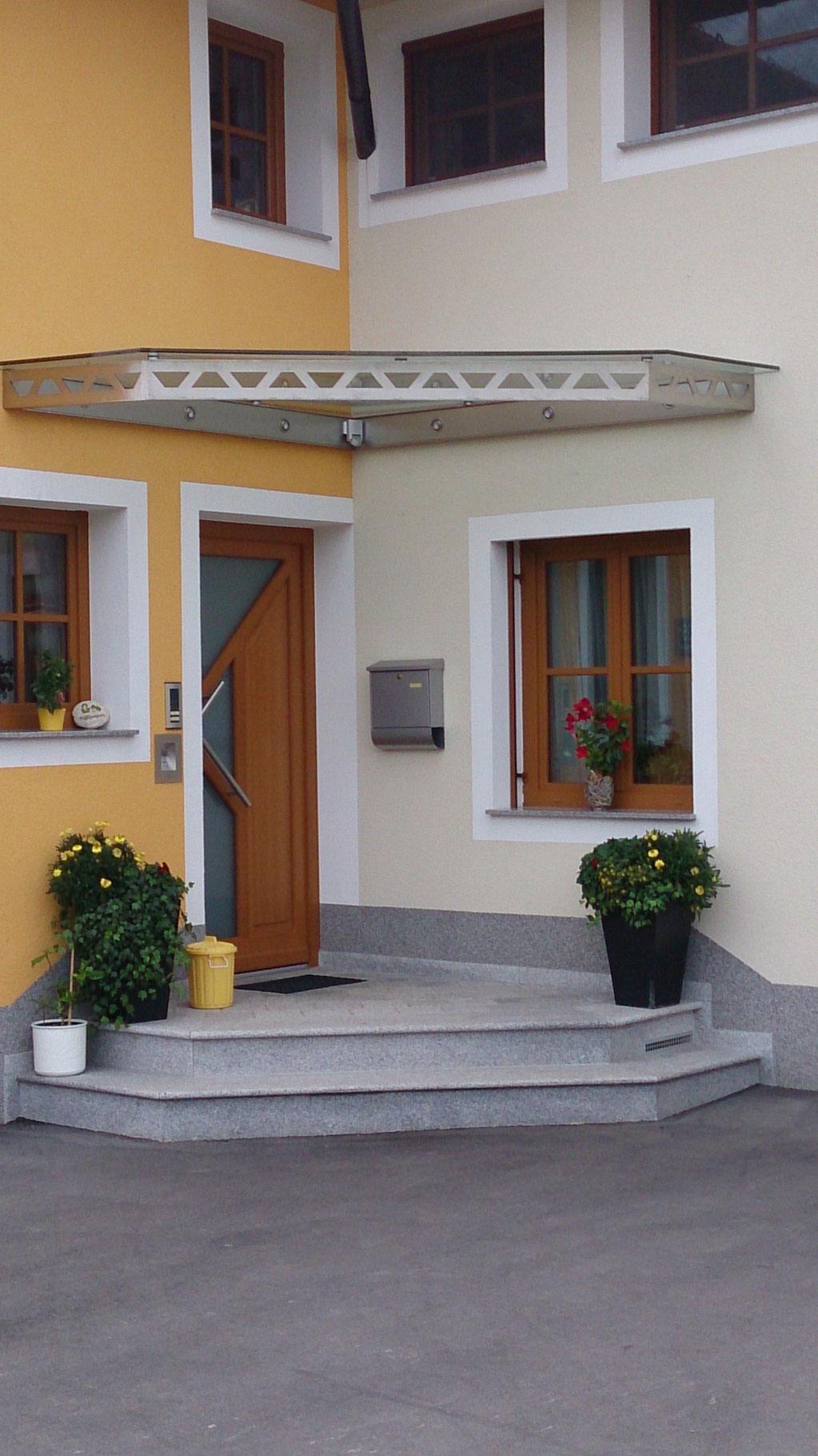 Faszinierend Eingangsüberdachung L Form Galerie Von Regen- Oder Schneeabhilfe Schaffen Mit Der Eingangsüberdachung!